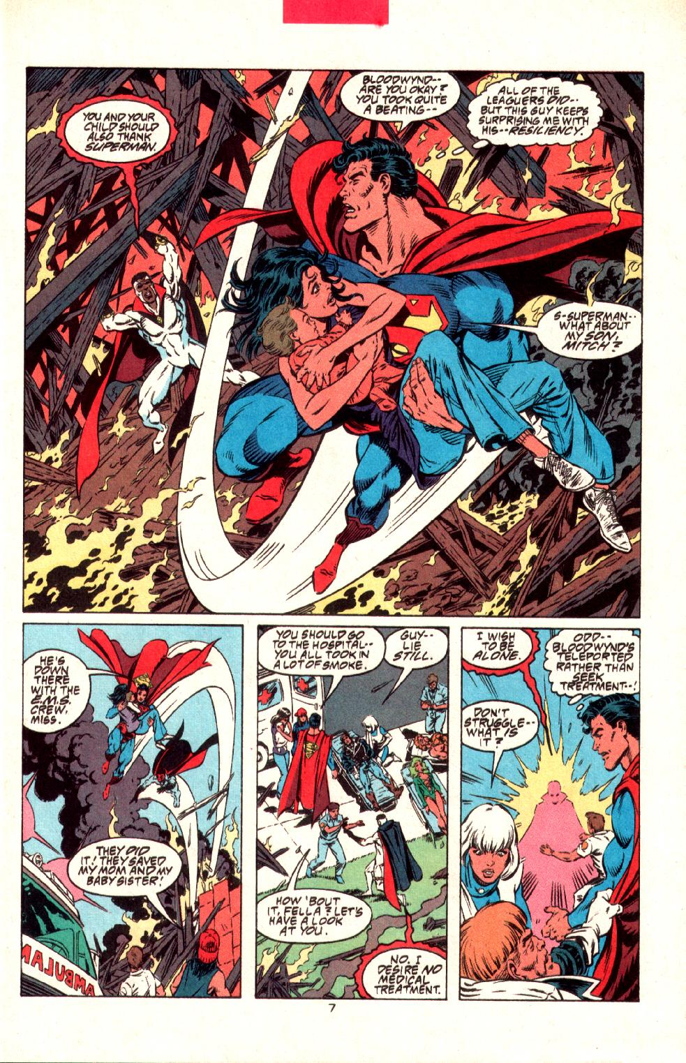 Read online Adventures of Superman (1987) comic -  Issue #497 - 8