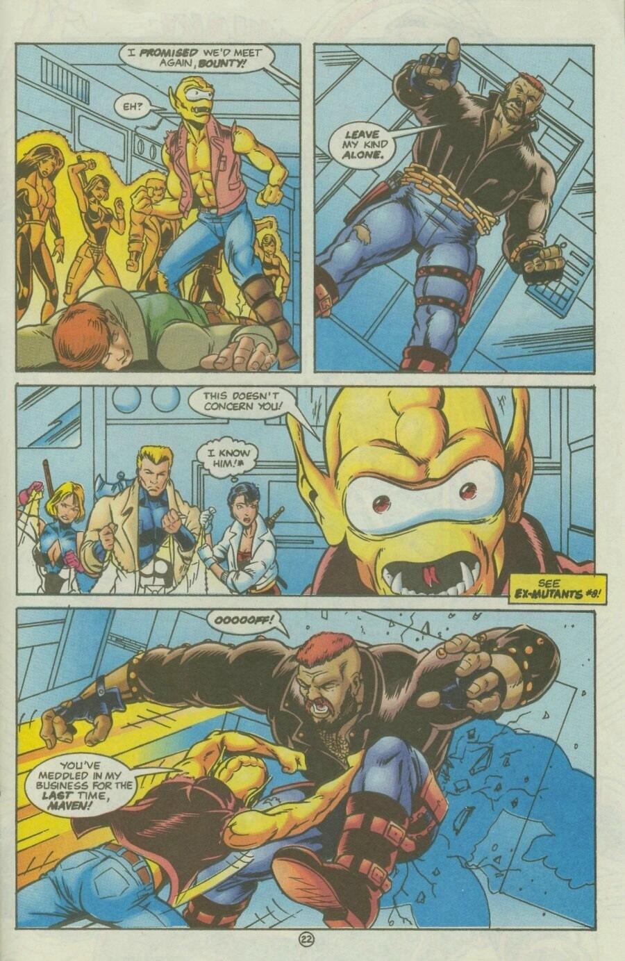 Read online Ex-Mutants comic -  Issue #10 - 26