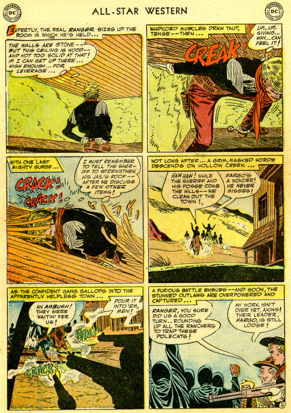 Read online All-Star Western (1951) comic -  Issue #64 - 16