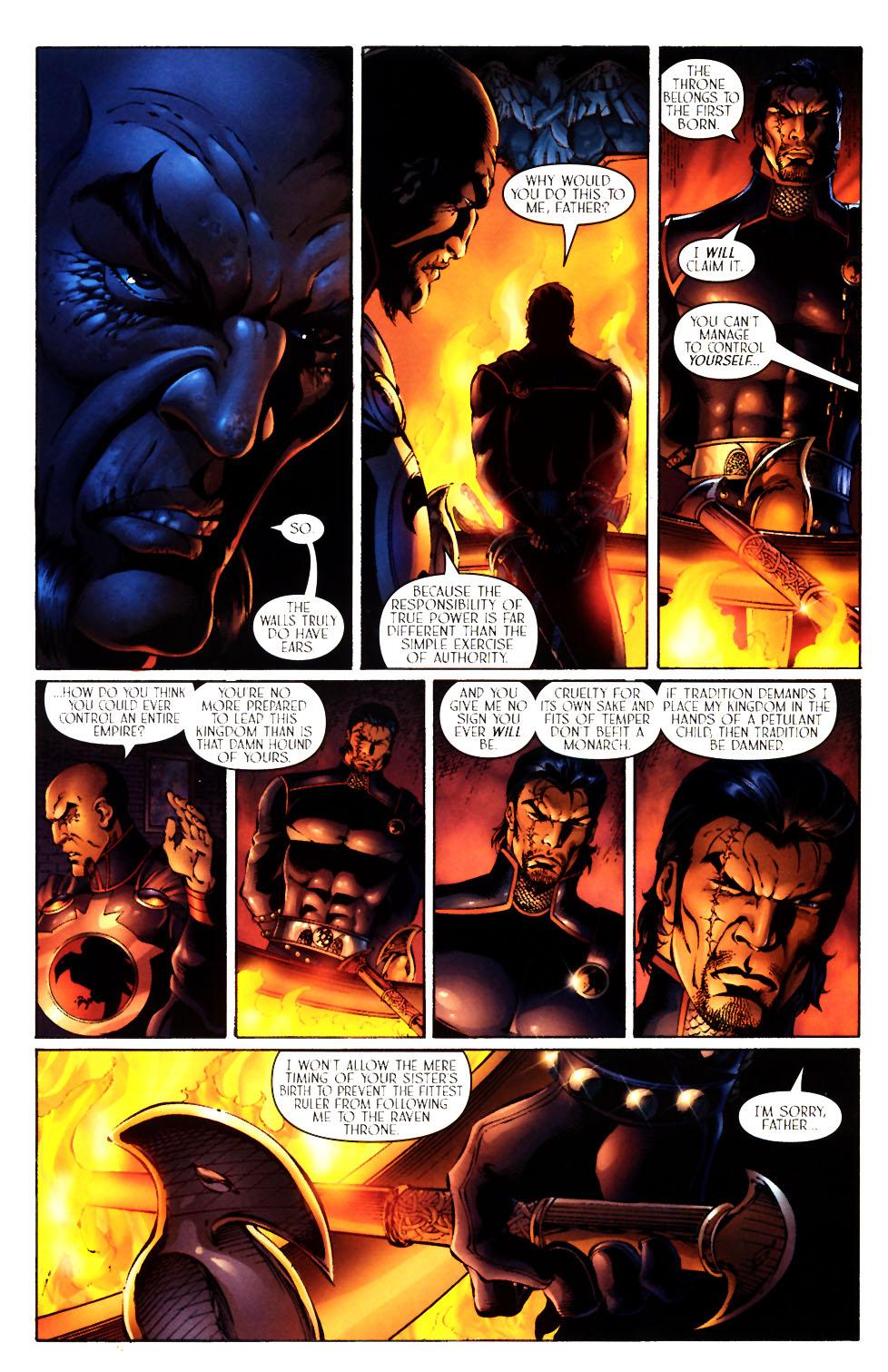 Read online Scion comic -  Issue #12 - 10
