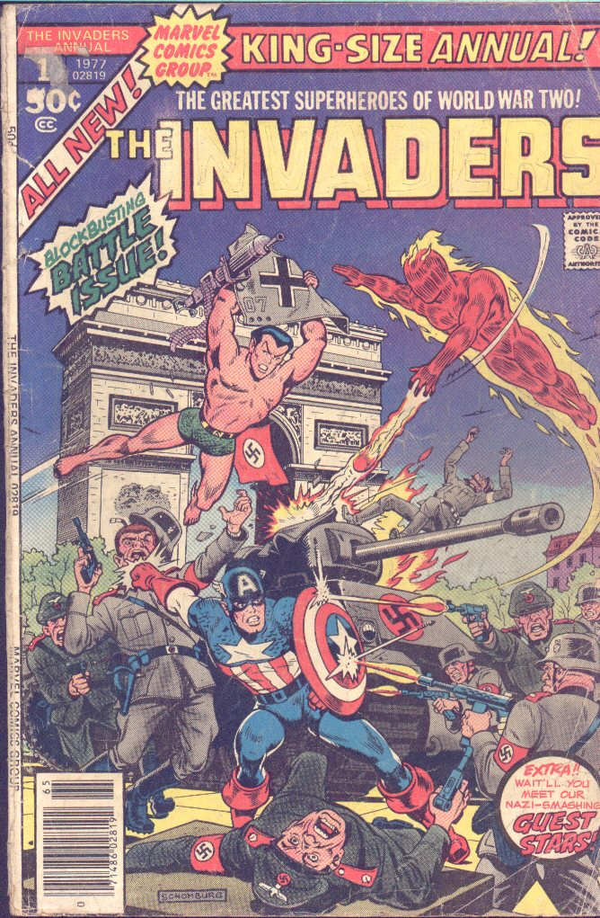 The Invaders (1975) issue Annual 1 - Page 1