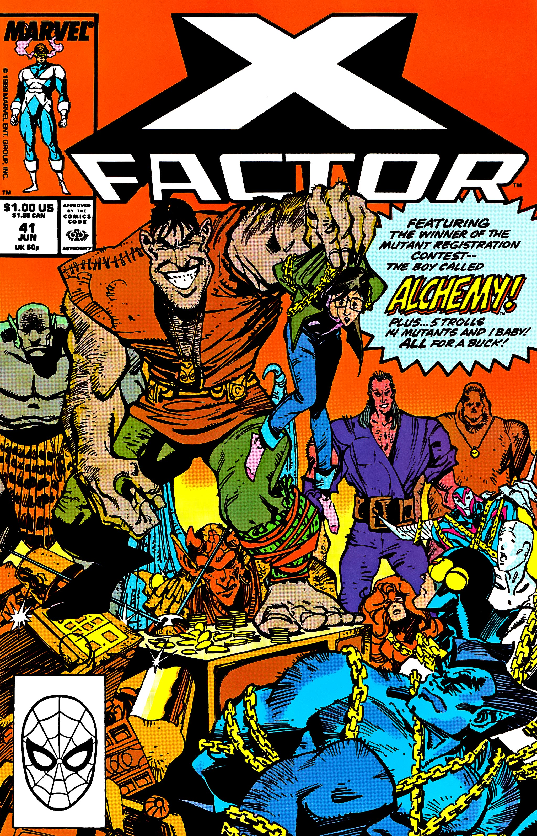Read online X-Factor (1986) comic -  Issue #41 - 1