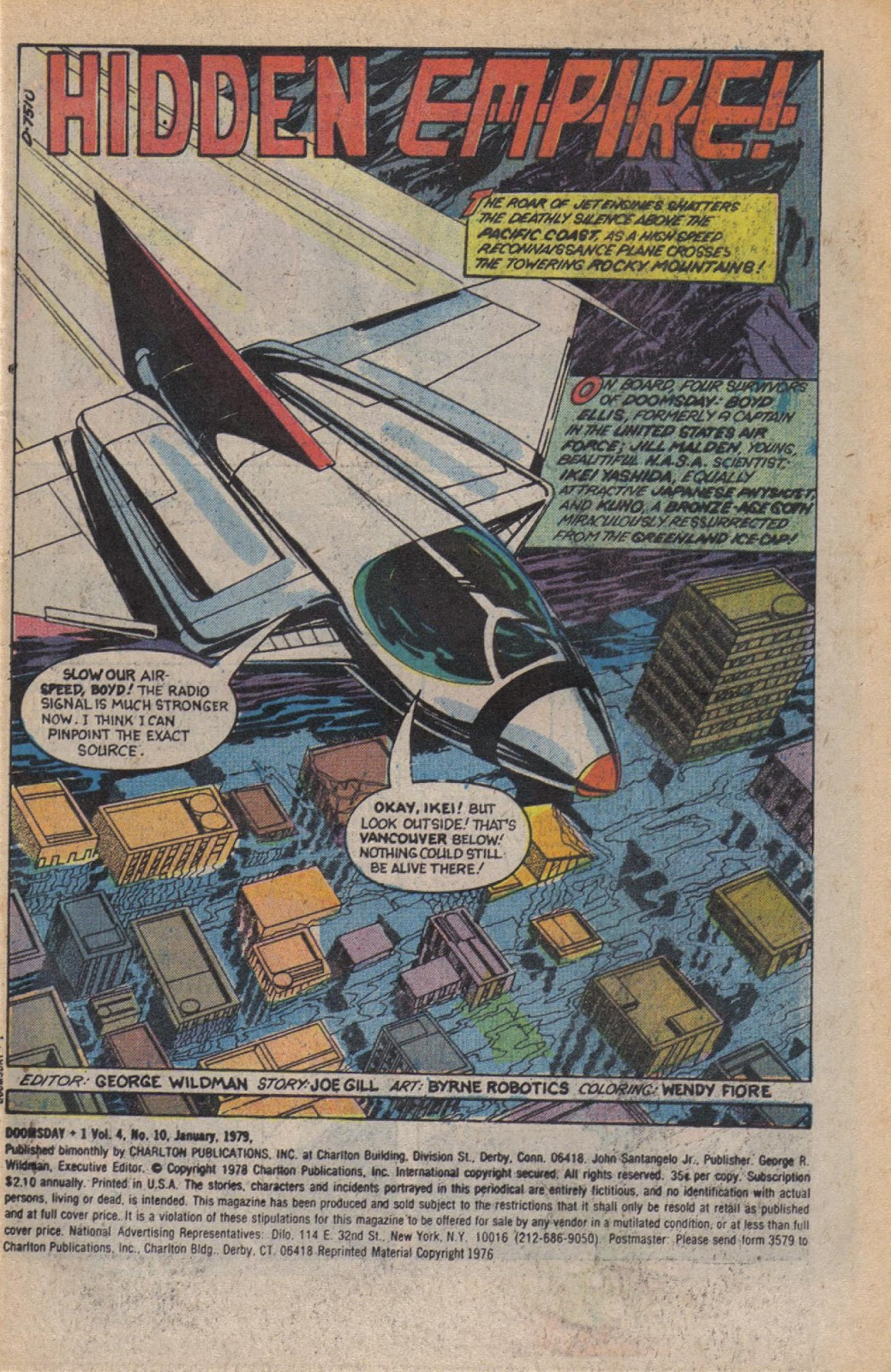 Read online Doomsday   1 (1975) comic -  Issue #10 - 3