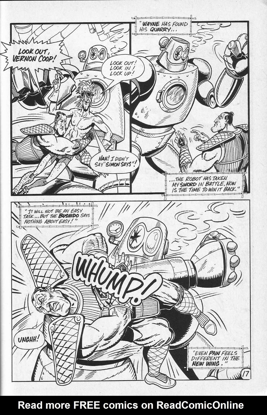 Read online Paul the Samurai (1991) comic -  Issue # TPB - 53