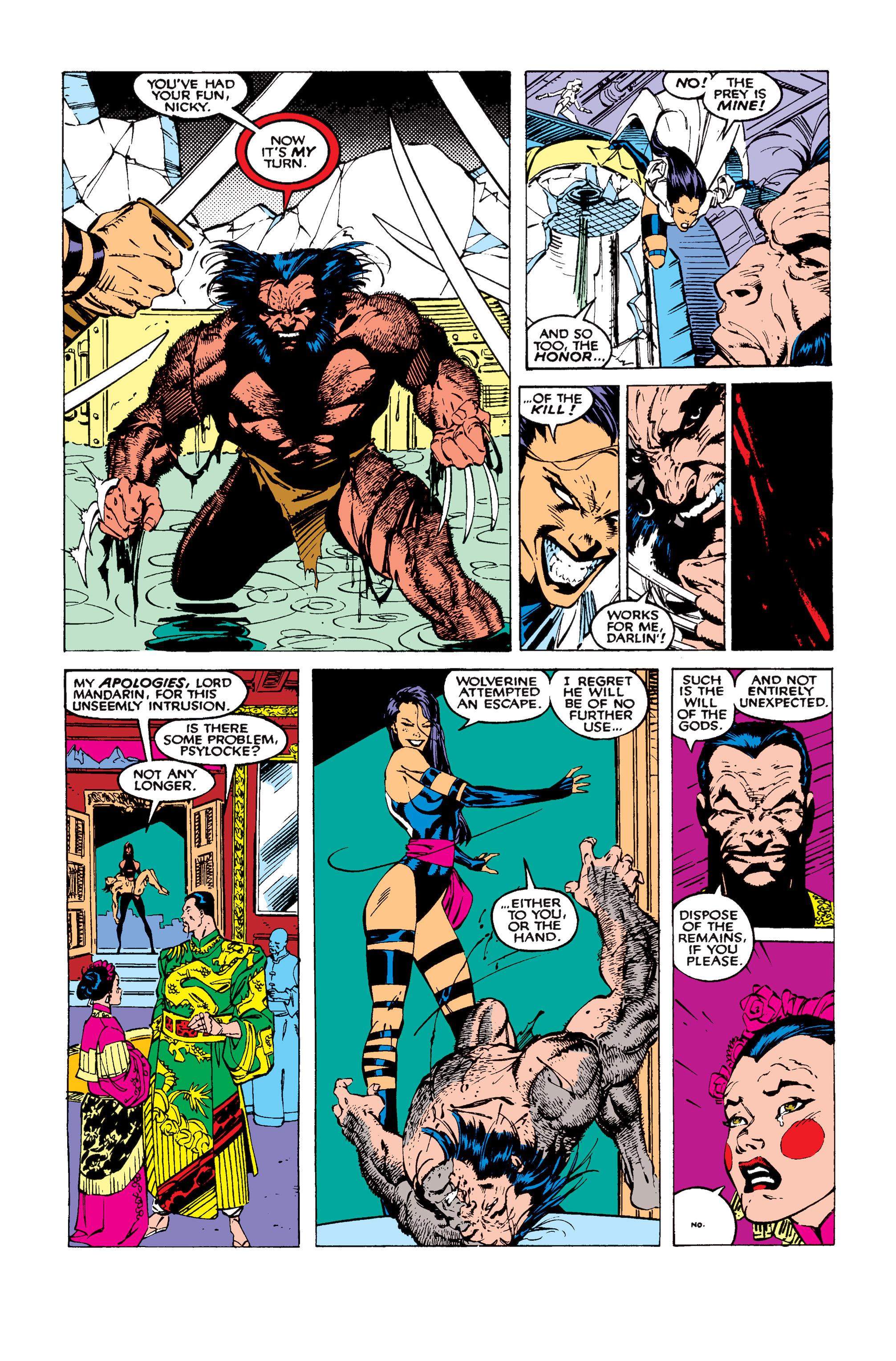 Read online Uncanny X-Men (1963) comic -  Issue #258 - 18