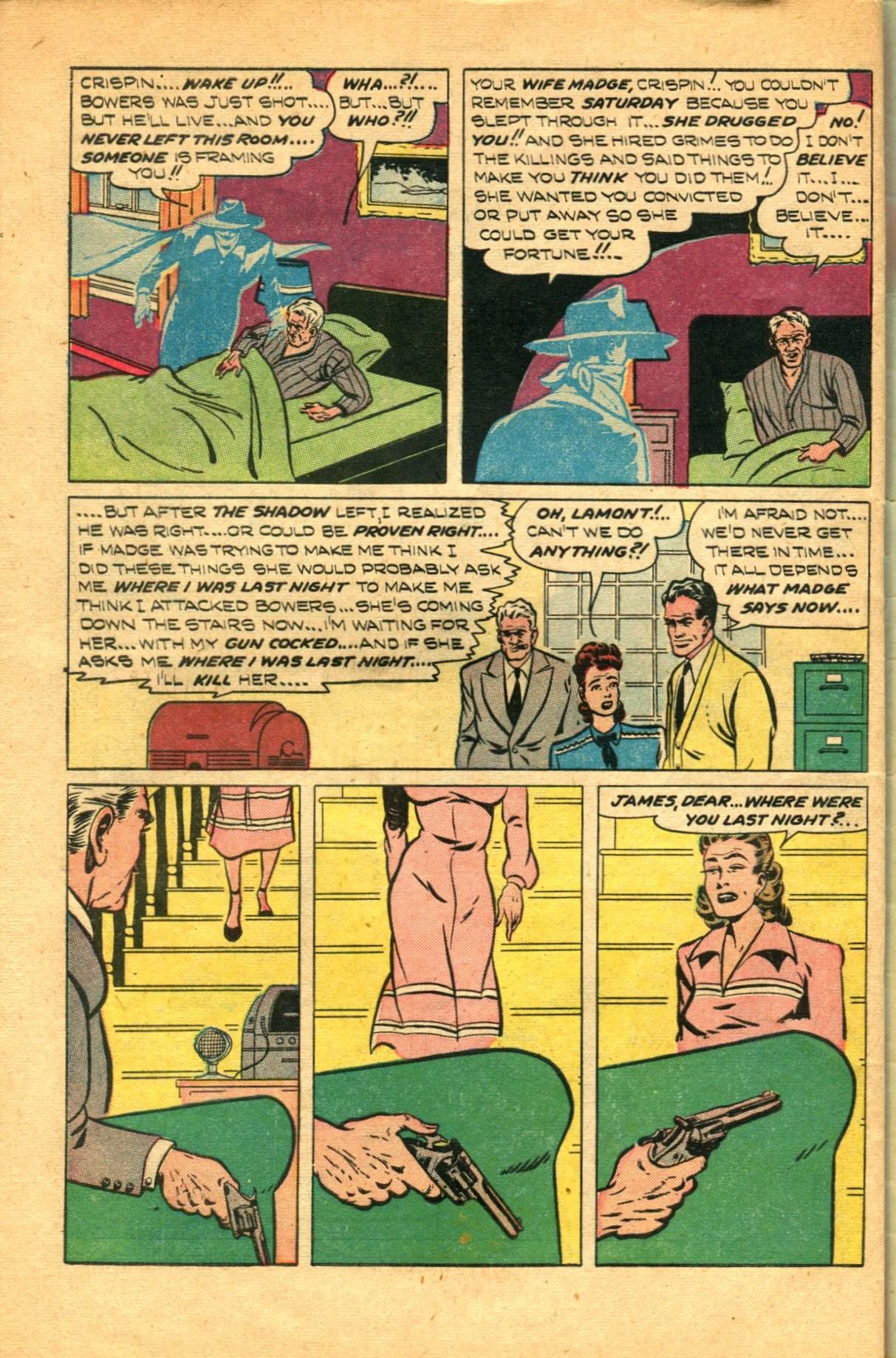 Read online Shadow Comics comic -  Issue #91 - 46