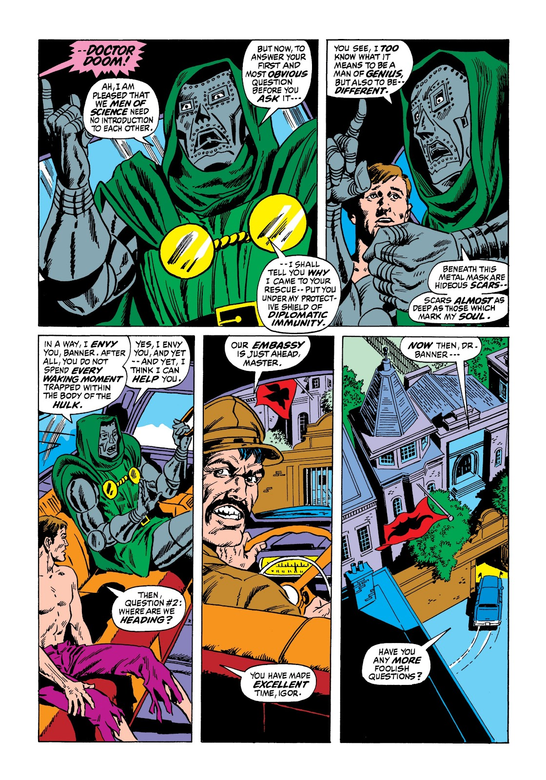 Read online Marvel Masterworks: The Incredible Hulk comic -  Issue # TPB 7 (Part 2) - 91