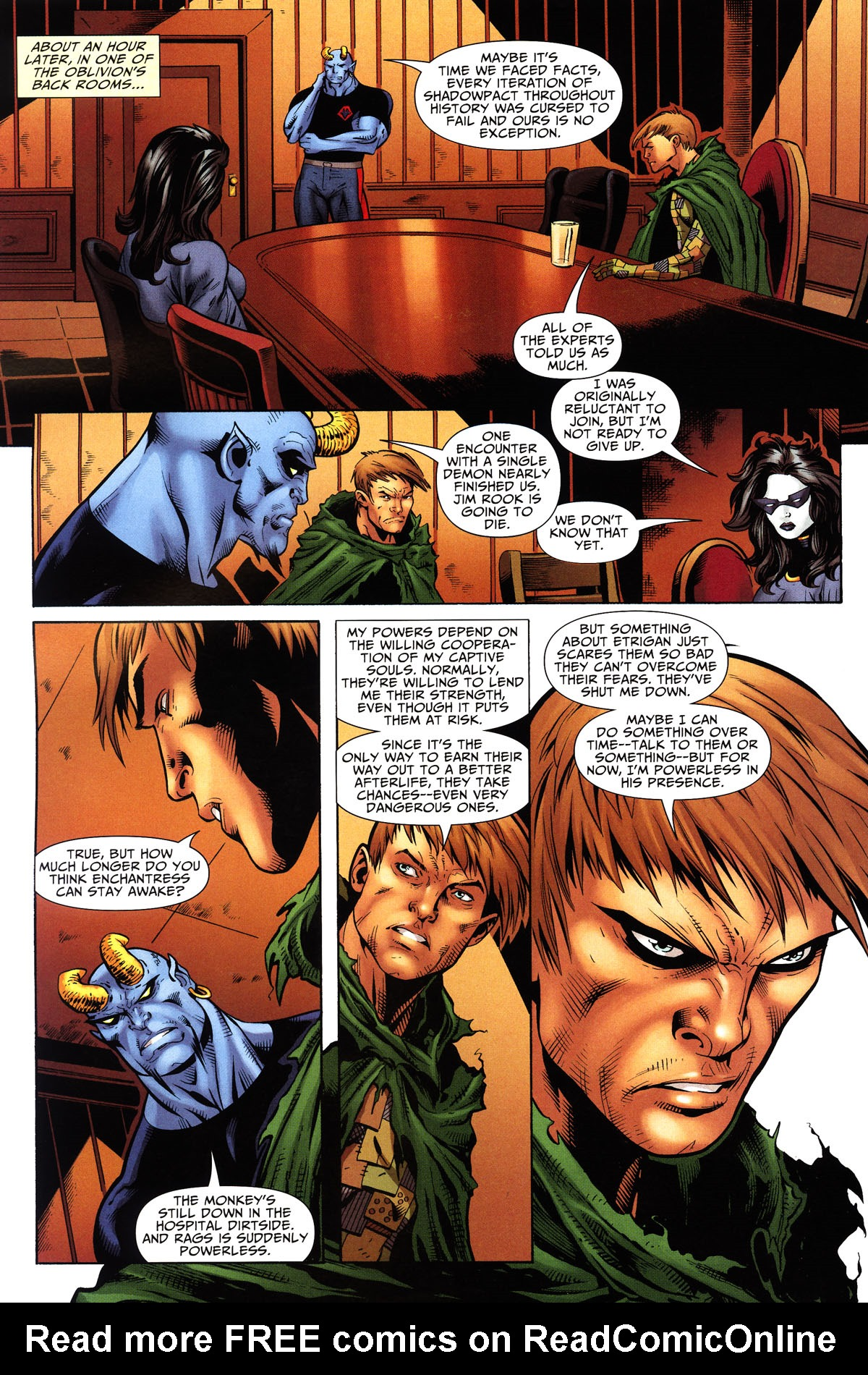 Read online Shadowpact comic -  Issue #10 - 16