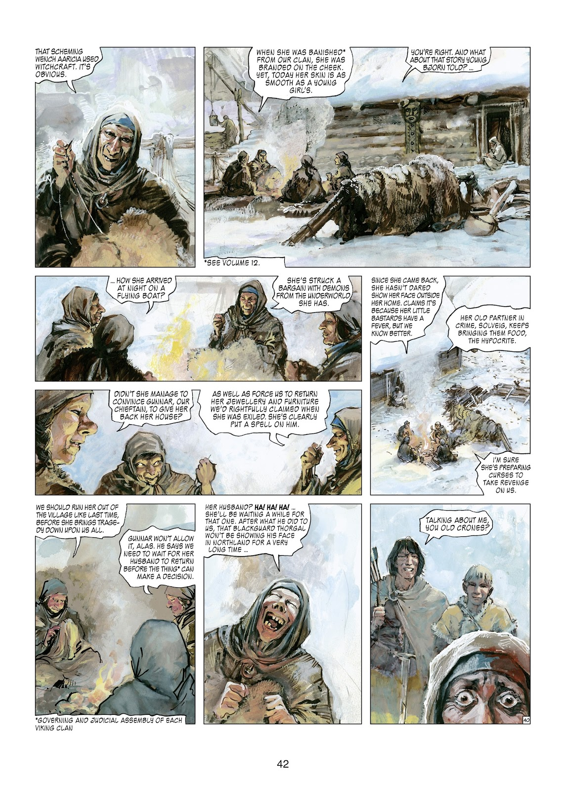 Read online Thorgal comic -  Issue #21 - 44