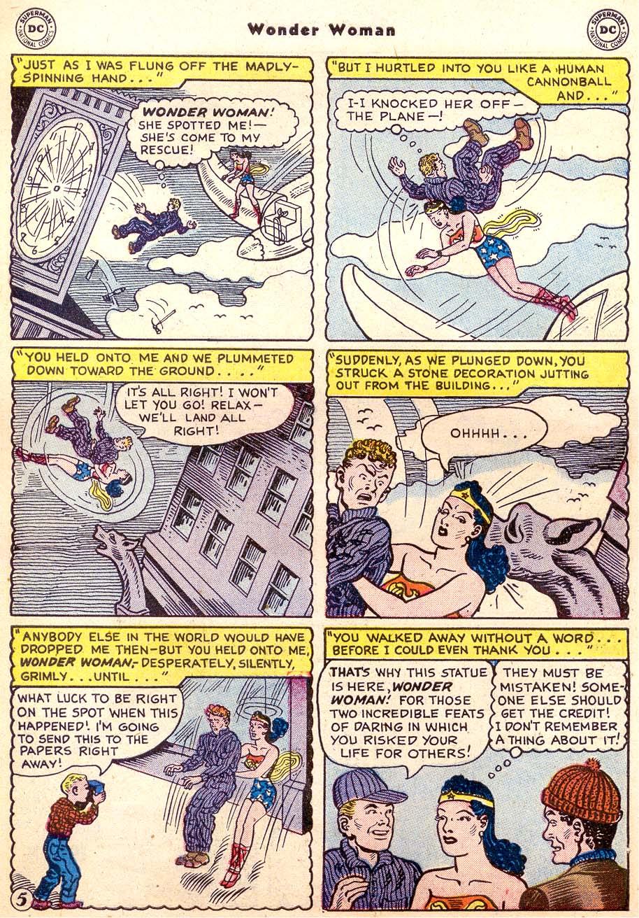 Read online Wonder Woman (1942) comic -  Issue #91 - 31