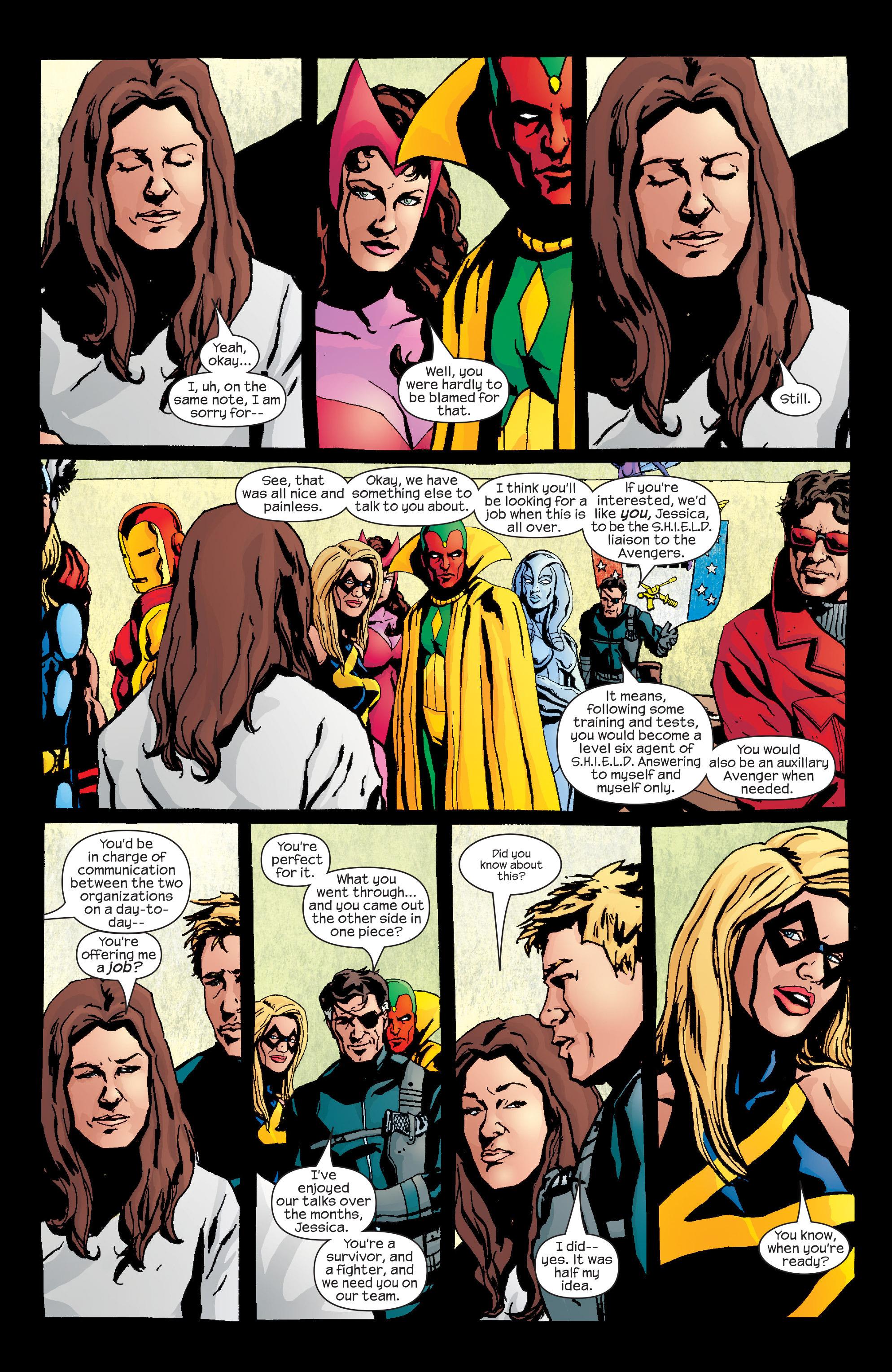 Read online Alias comic -  Issue #26 - 16