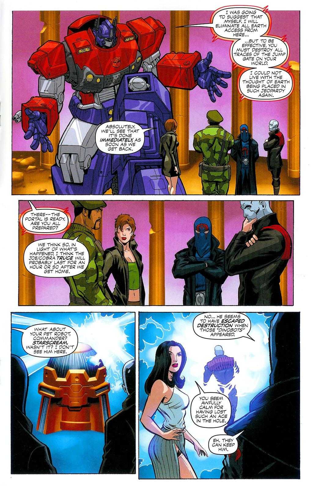 G.I. Joe vs. The Transformers II Issue #4 #5 - English 19