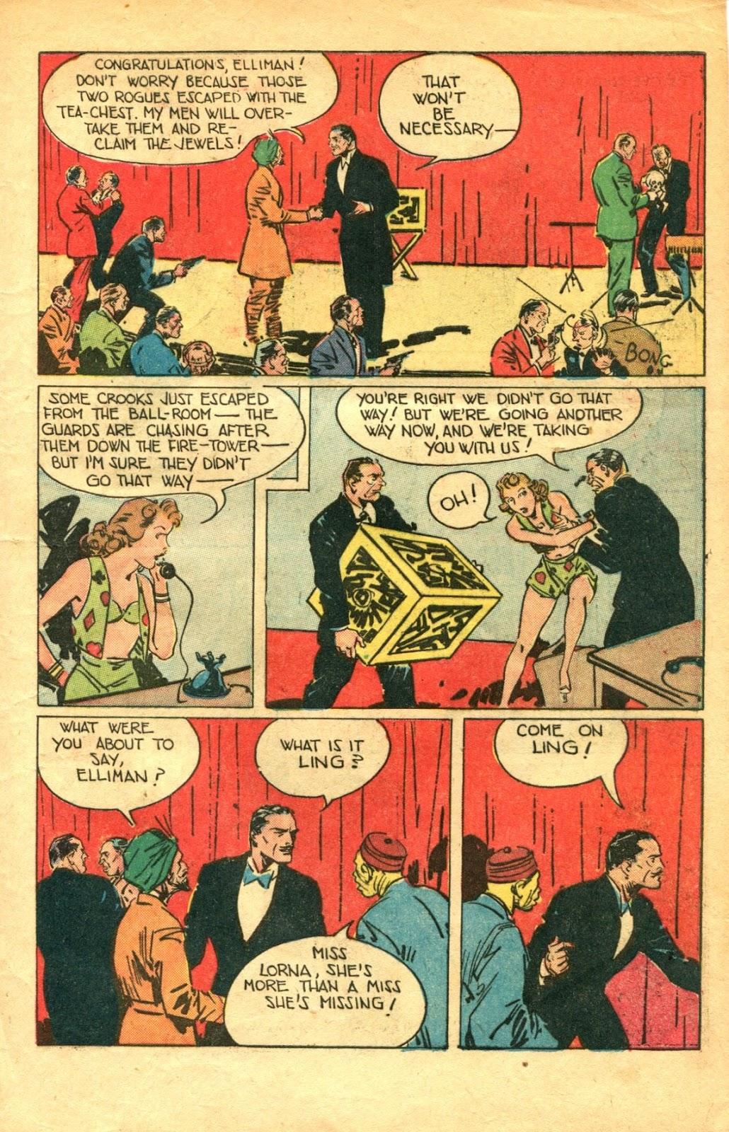 Read online Super-Magician Comics comic -  Issue #48 - 13