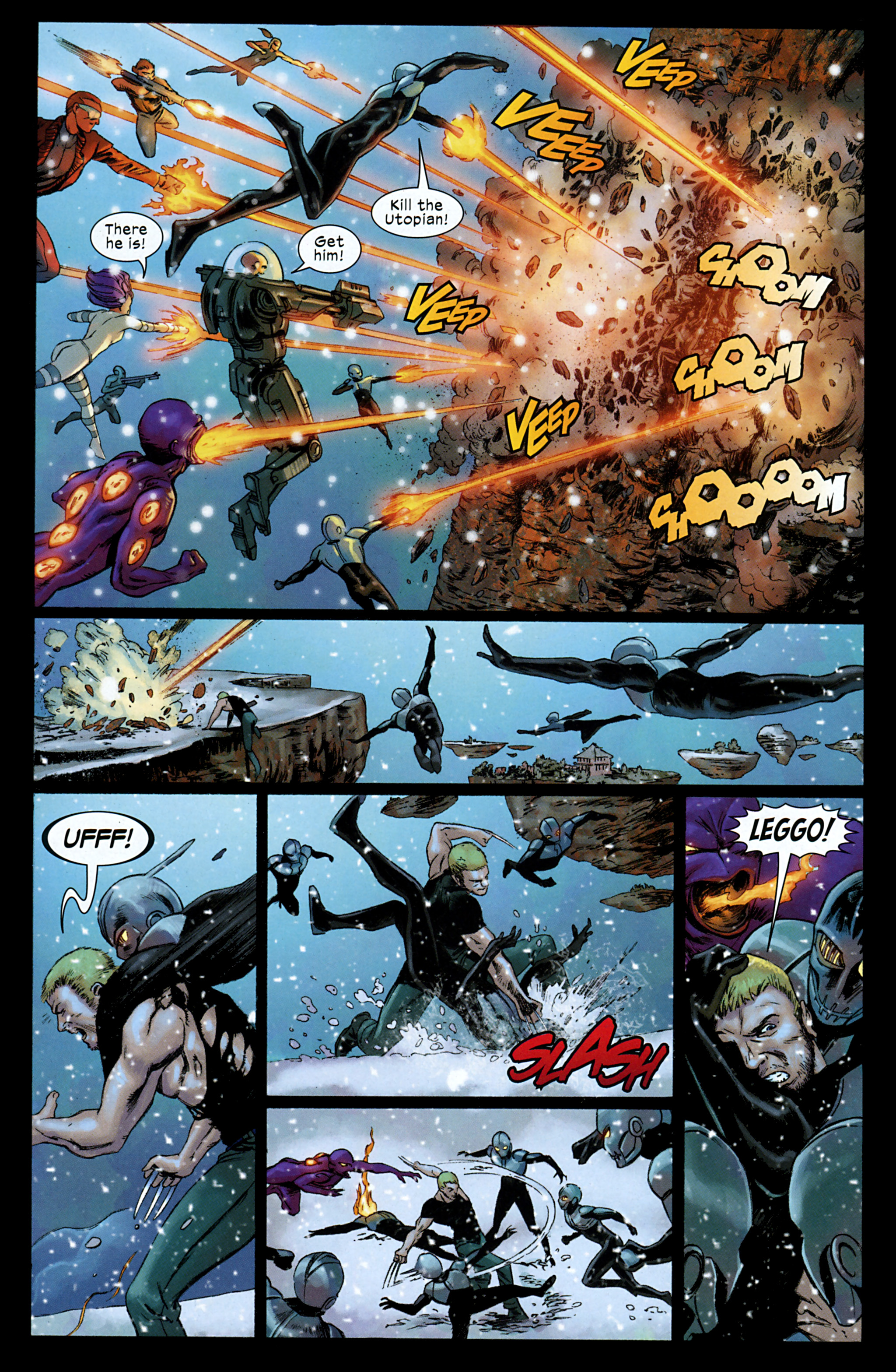 Read online Ultimate Comics X-Men comic -  Issue #32 - 10