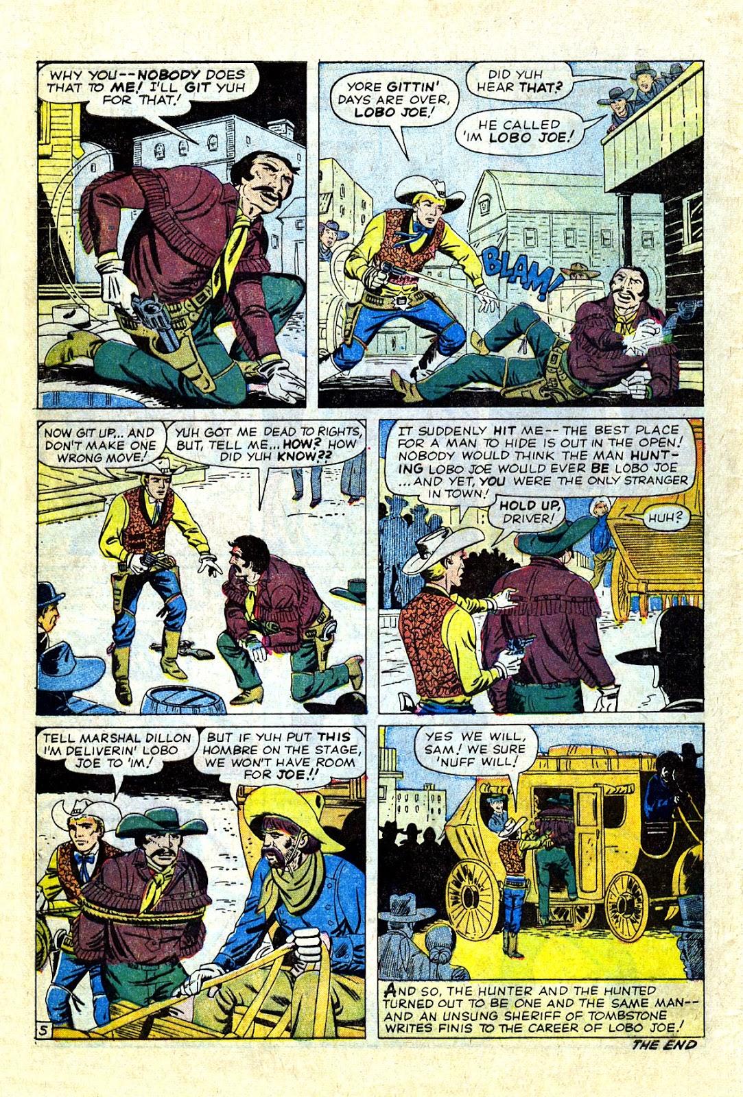 Gunsmoke Western issue 75 - Page 32