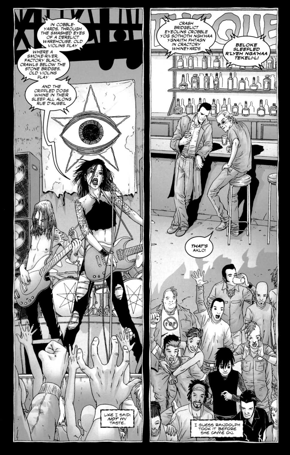 Read online Alan Moore's The Courtyard comic -  Issue #1 - 19