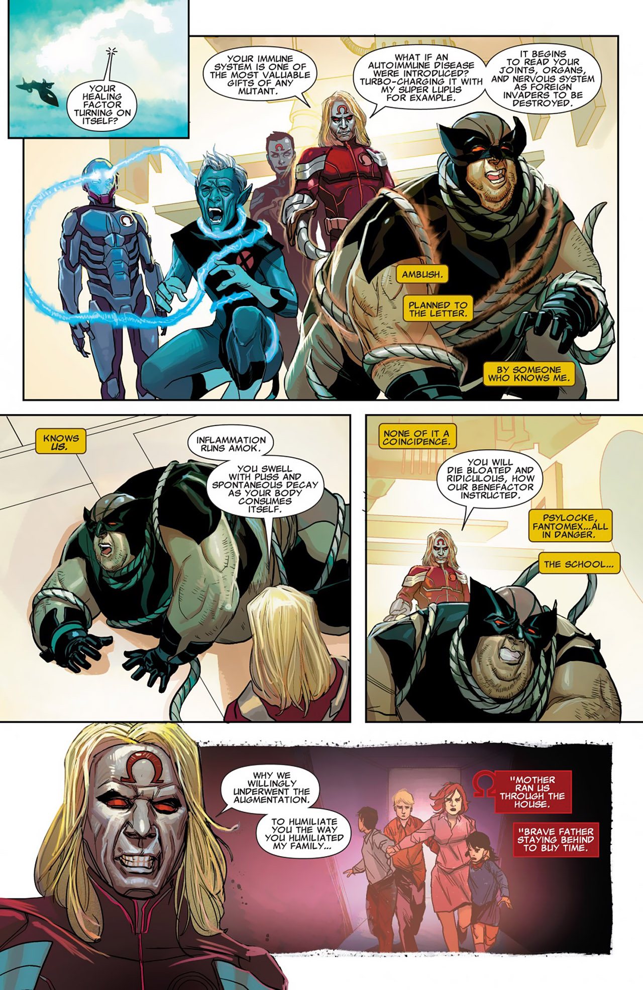 Read online Uncanny X-Force (2010) comic -  Issue #26 - 8