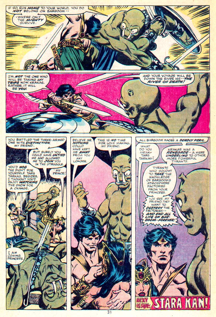 John Carter Warlord of Mars issue 1 - Page 17