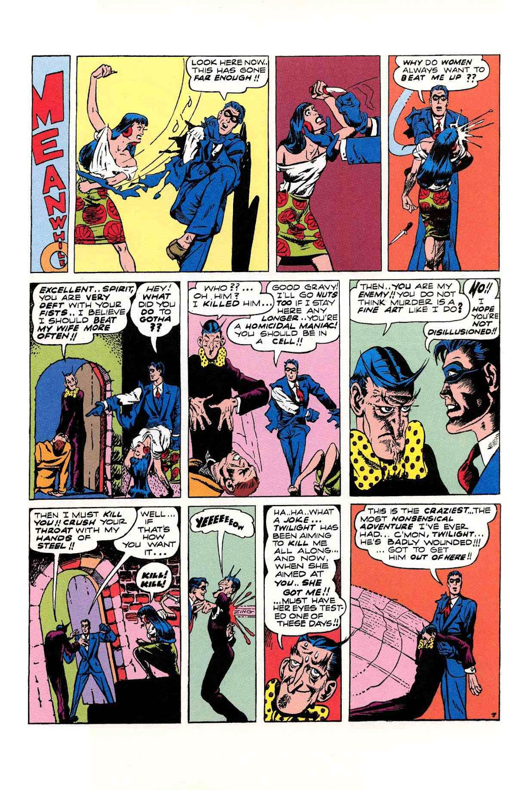 Read online Will Eisner's The Spirit Archives comic -  Issue # TPB 2 (Part 2) - 91