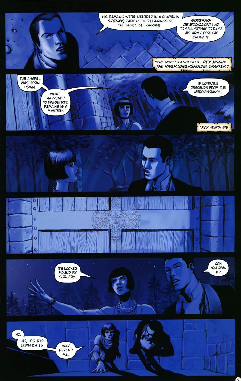 Read online Rex Mundi comic -  Issue #17 - 13