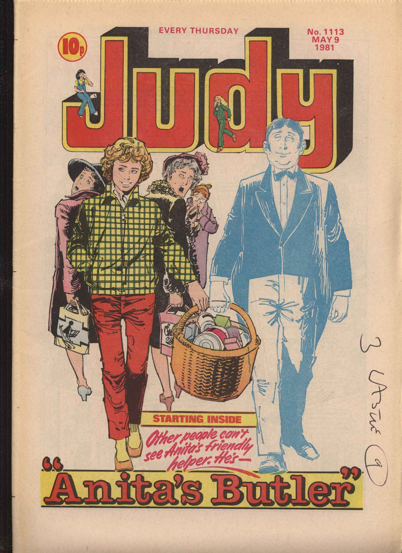 Read online Judy comic -  Issue #1113 - 1