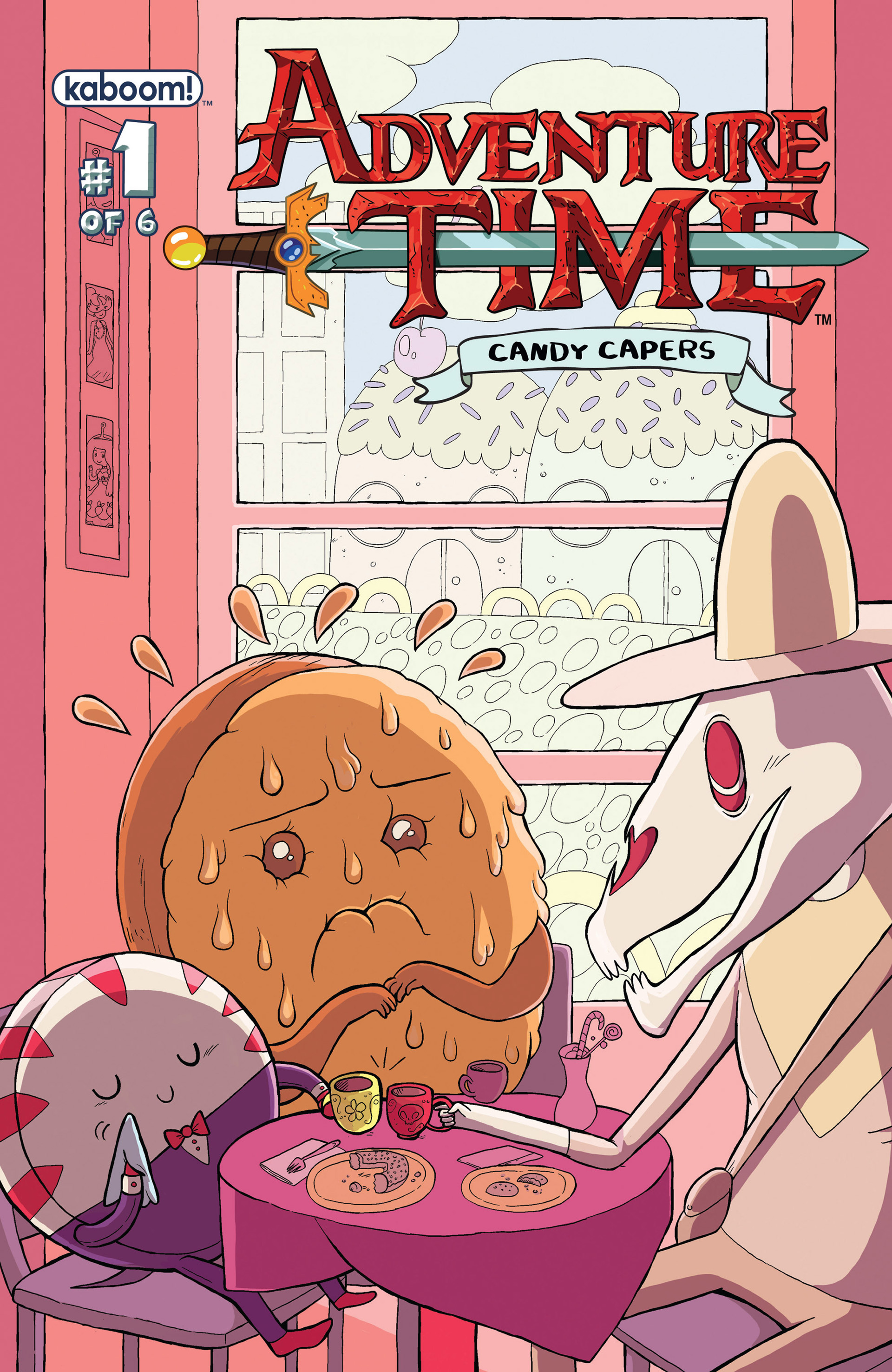 Read online Adventure Time: Candy Capers comic -  Issue #1 - 2