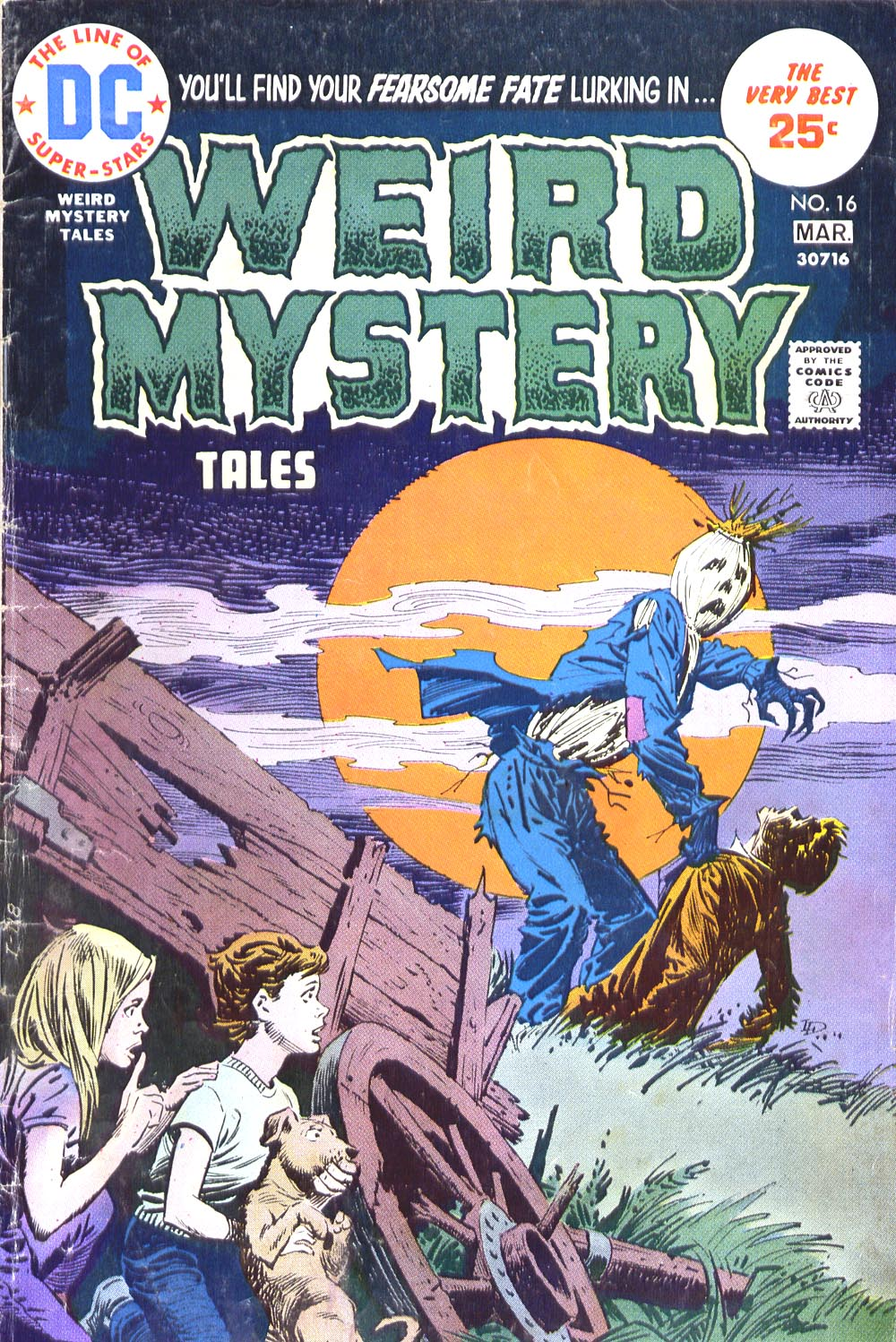 Weird Mystery Tales issue 16 - Page 1