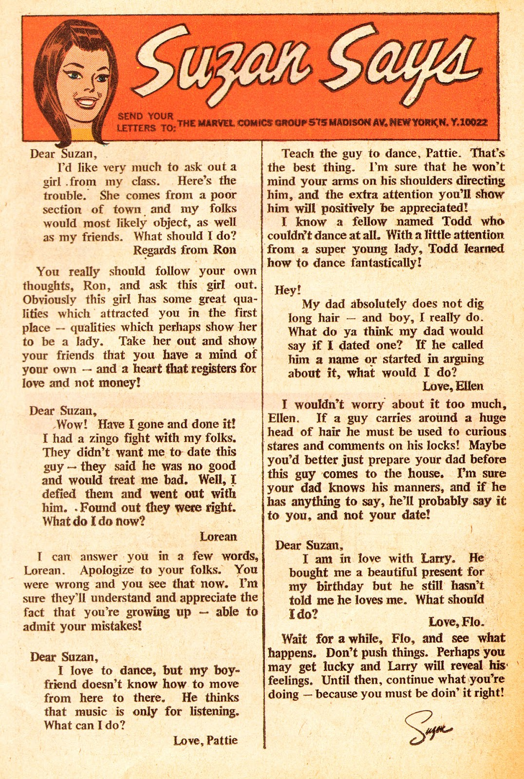 My Love (1969) issue 22 - Page 11