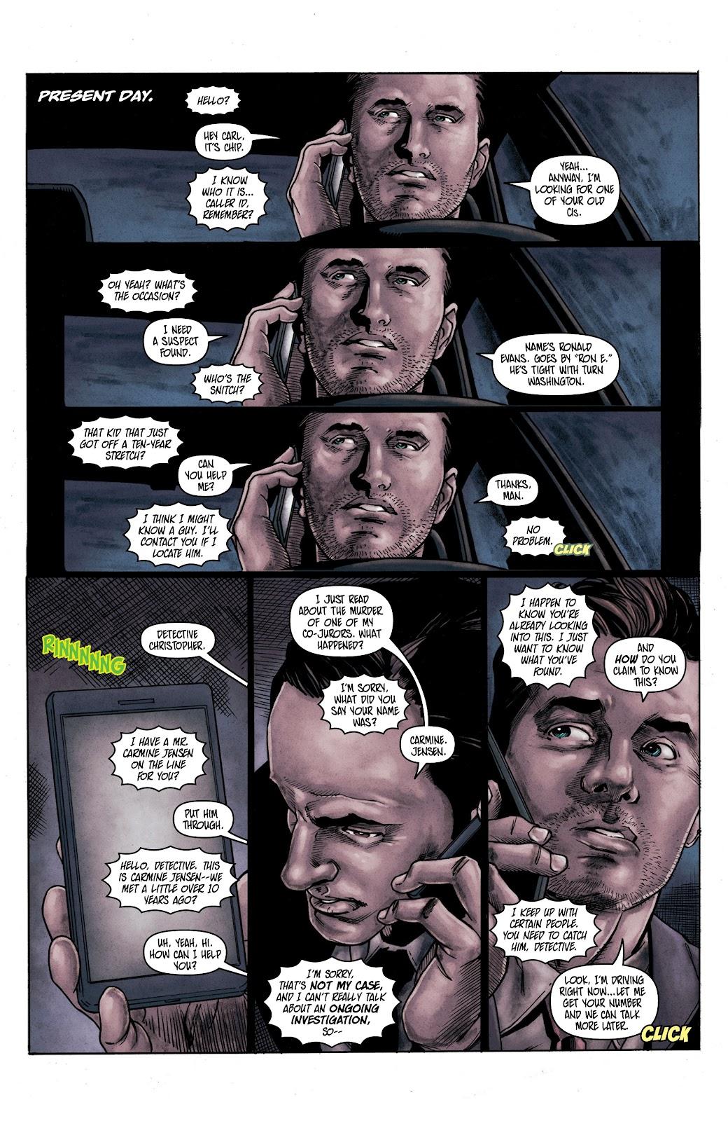 Read online Vindication comic -  Issue #2 - 12