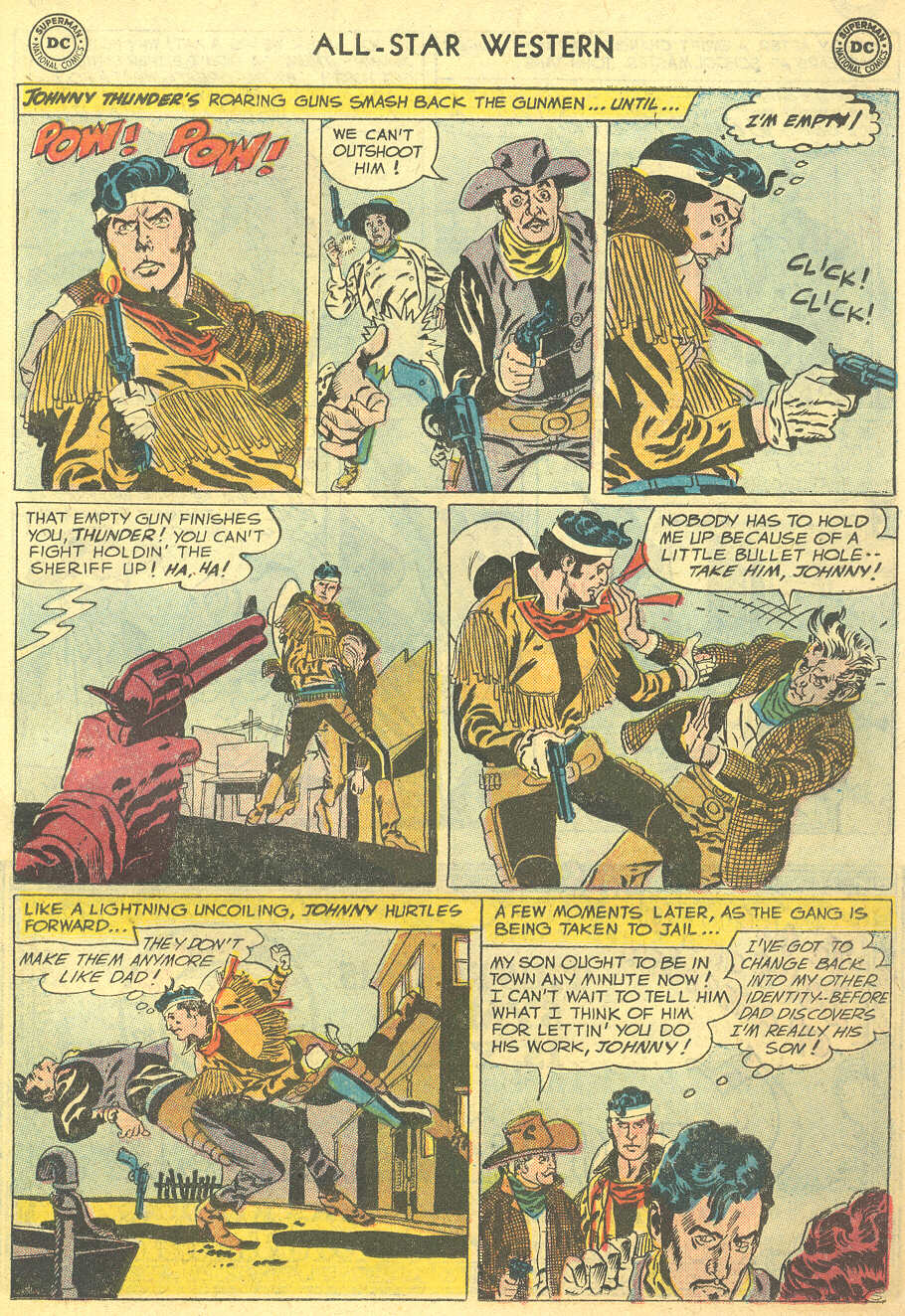 Read online All-Star Western (1951) comic -  Issue #95 - 15