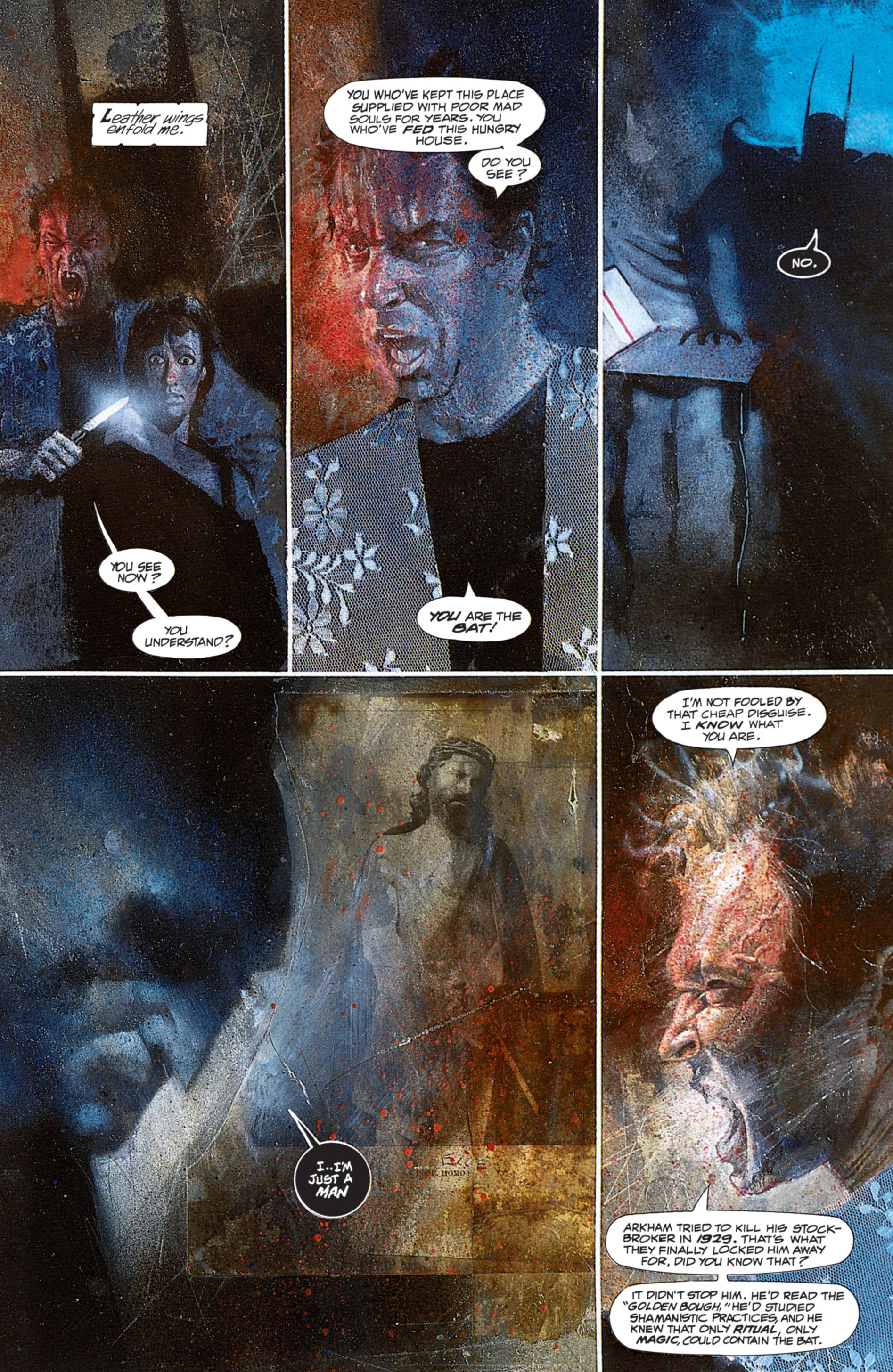 Read online Arkham Asylum comic -  Issue #Arkham Asylum Full - 91