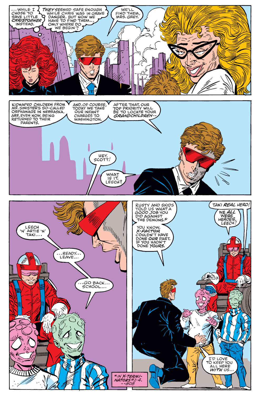 Read online X-Factor (1986) comic -  Issue #40 - 5