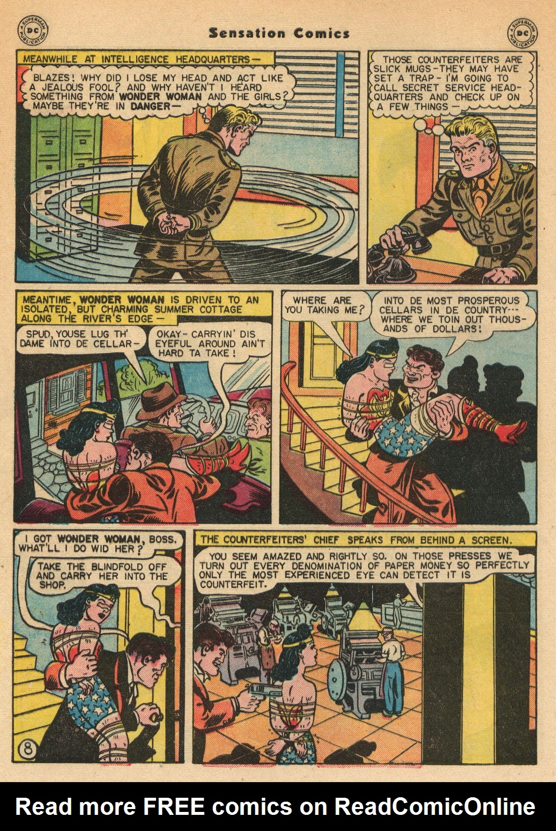 Read online Sensation (Mystery) Comics comic -  Issue #51 - 10