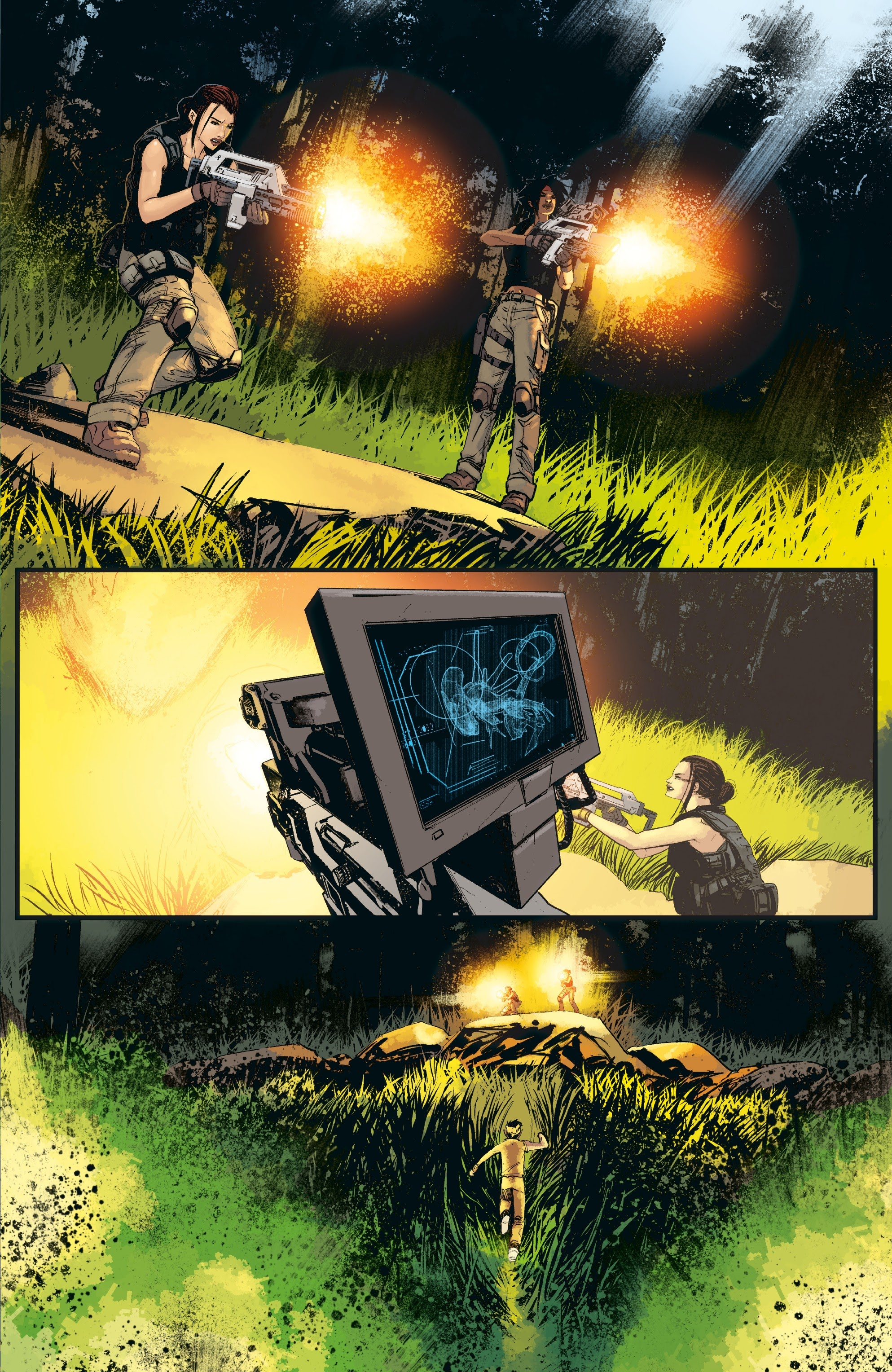 Aliens: Resistance issue 3 - Page 13