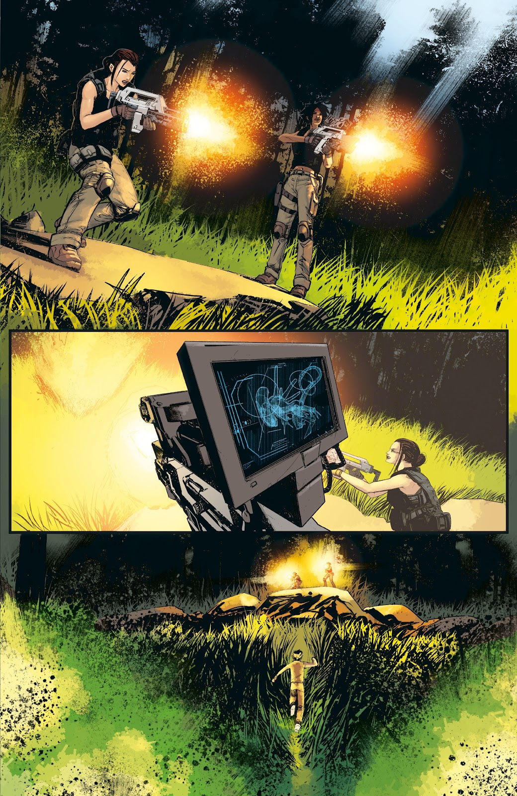 Read online Aliens: Resistance comic -  Issue #3 - 13