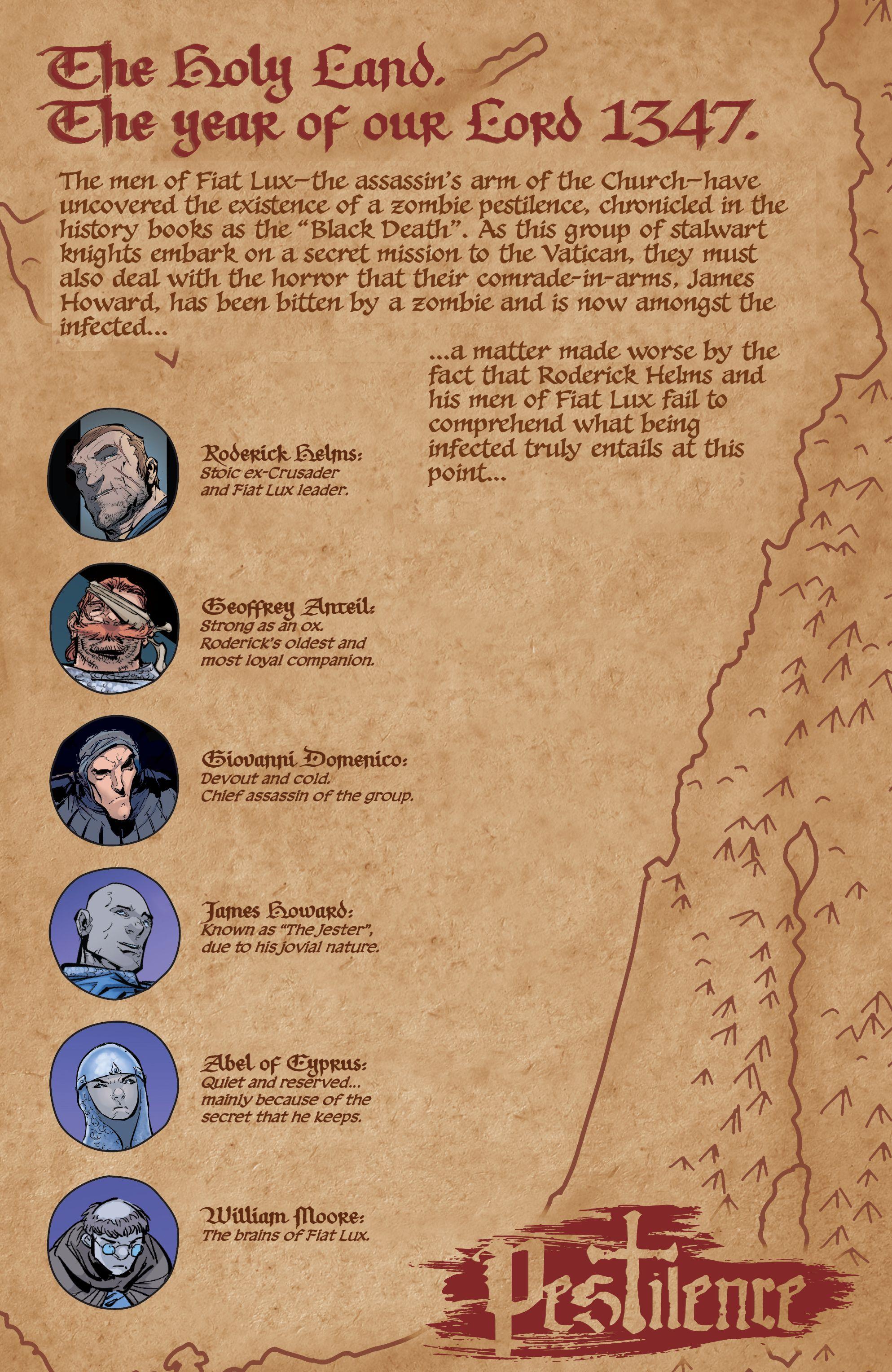 Read online Pestilence comic -  Issue #2 - 3