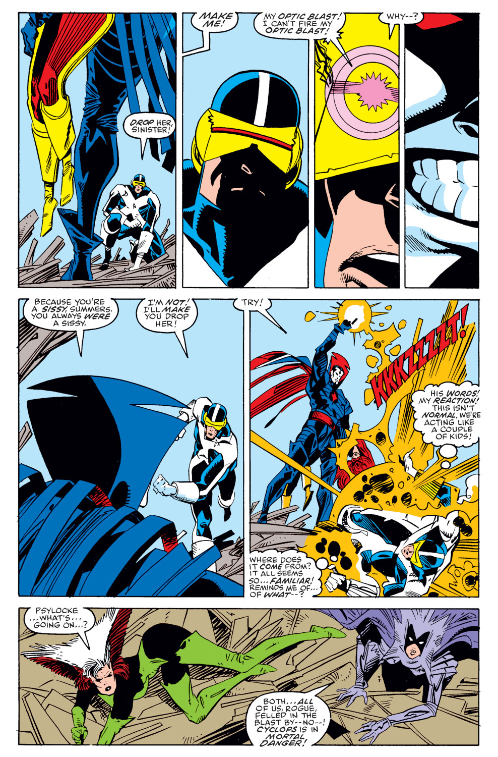 Read online X-Factor (1986) comic -  Issue #39 - 5
