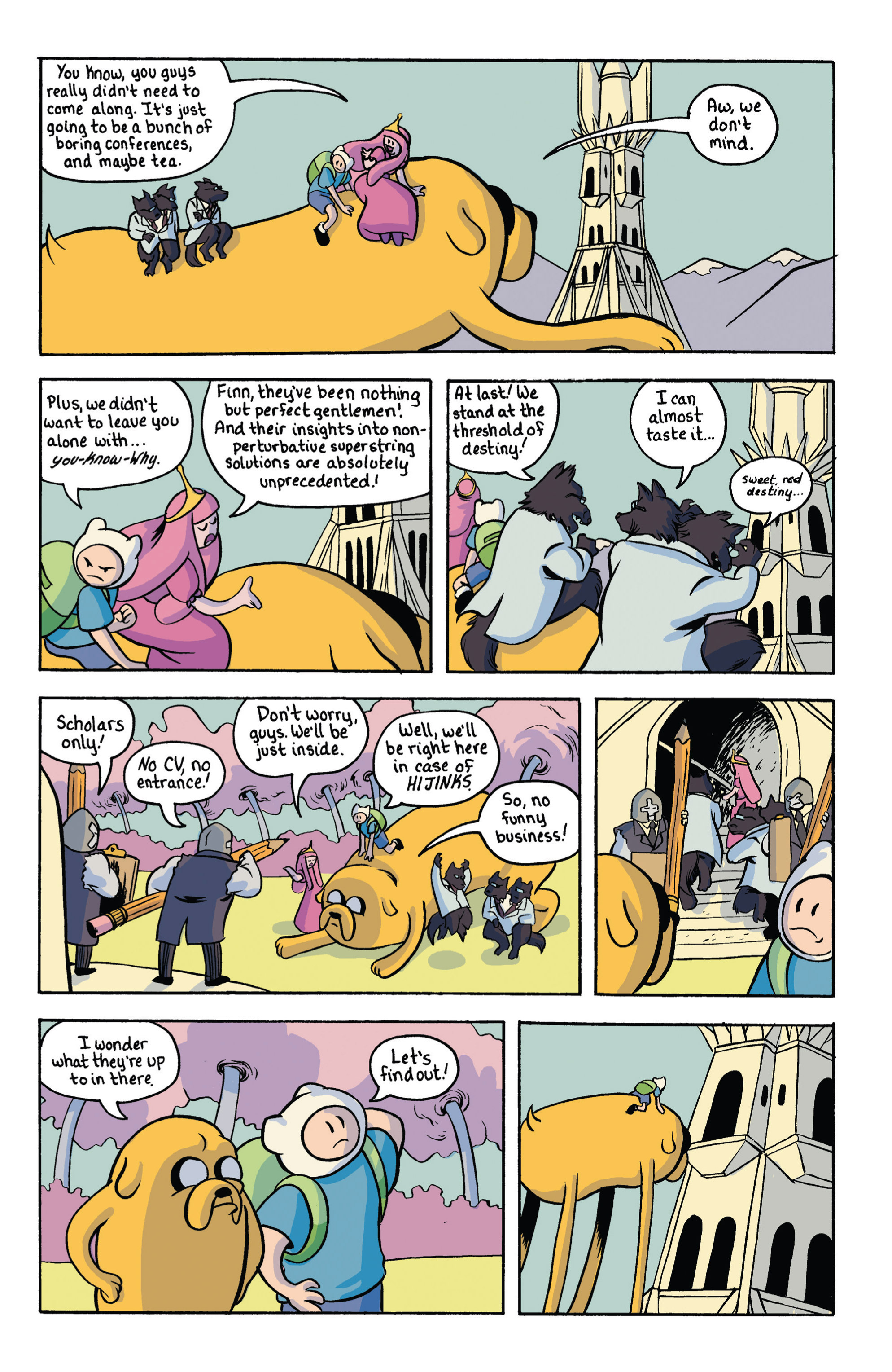 Read online Adventure Time comic -  Issue #18 - 27
