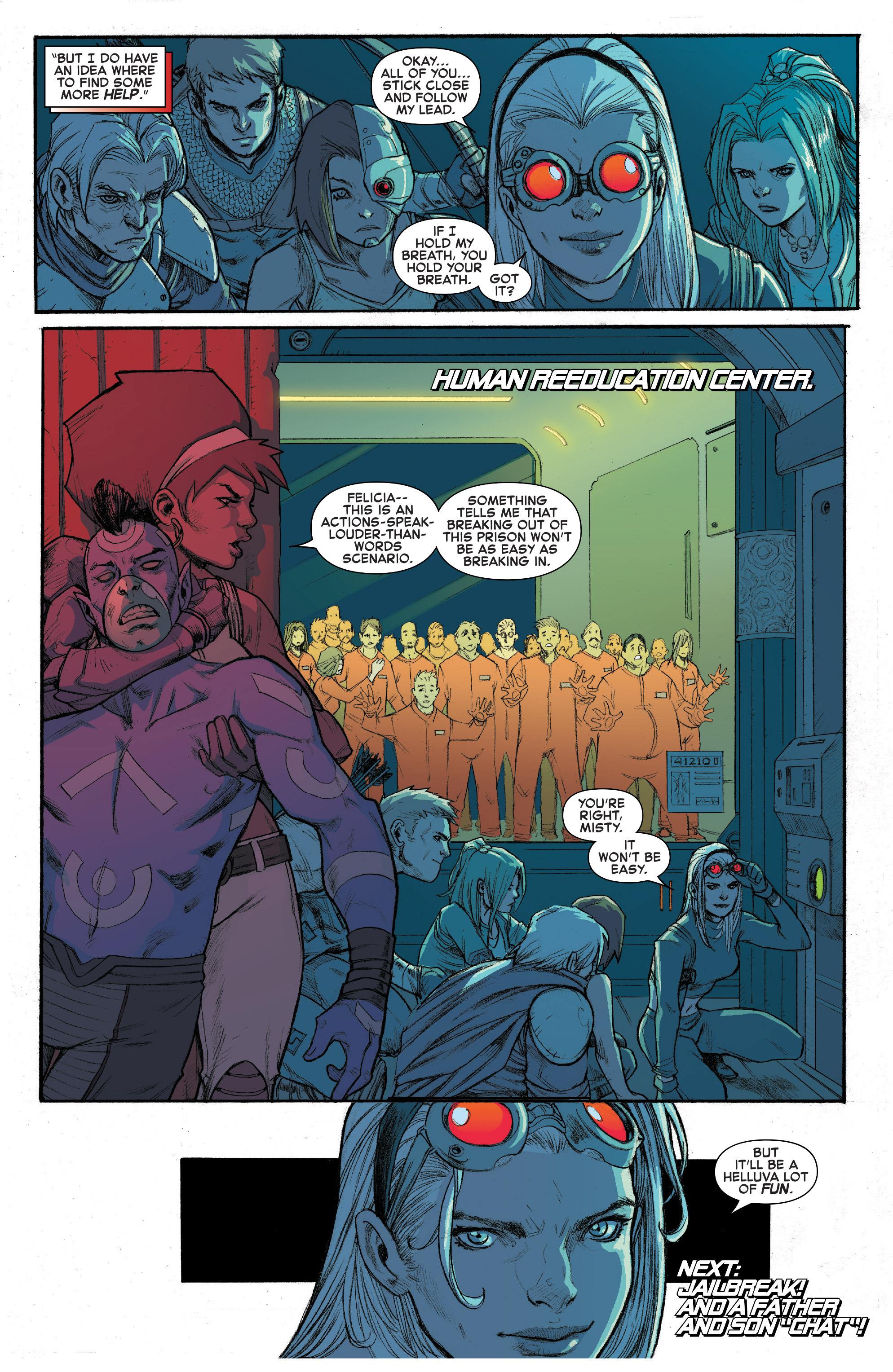Read online House of M (2015) comic -  Issue #3 - 21
