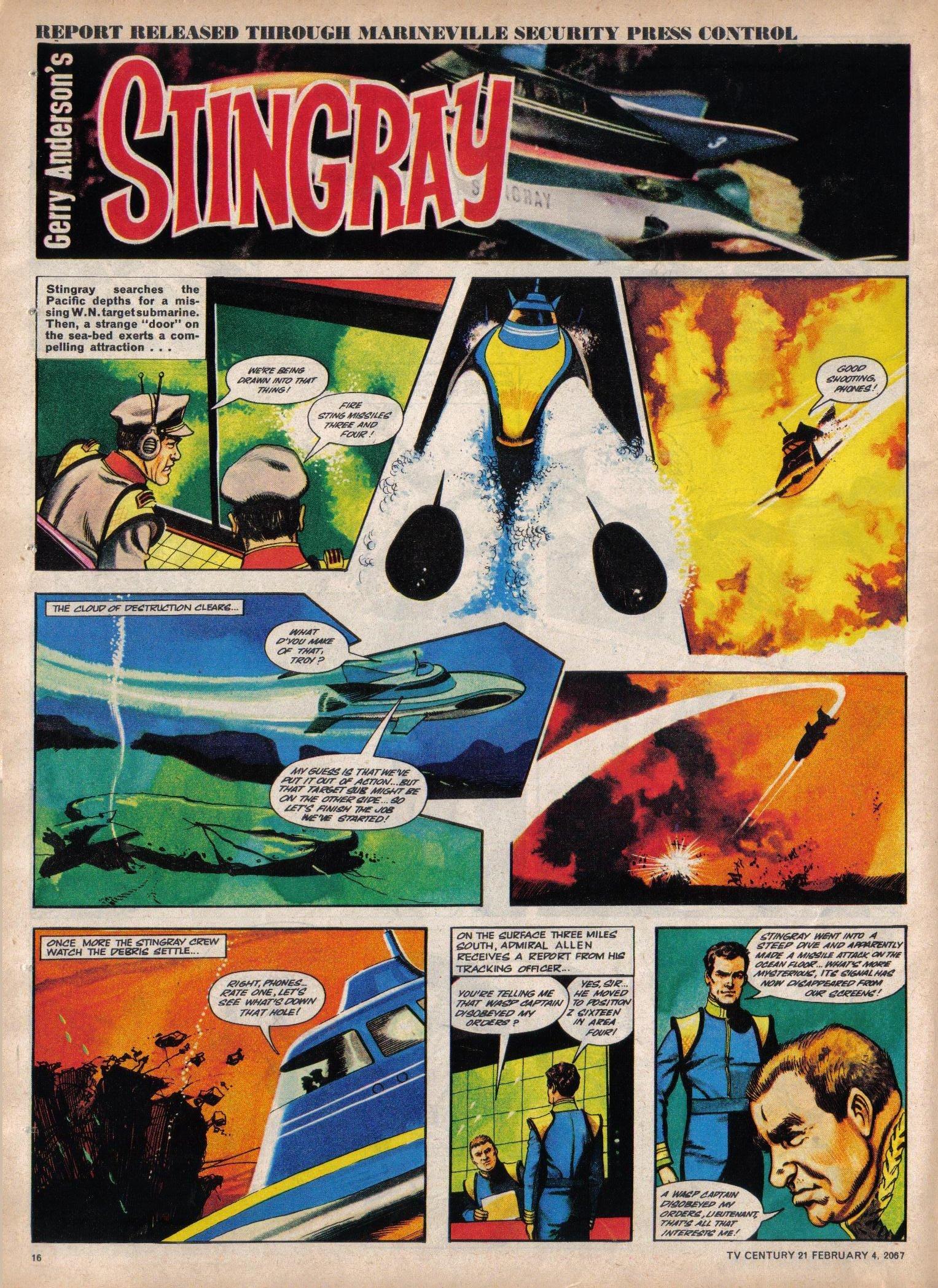 Read online TV Century 21 (TV 21) comic -  Issue #107 - 15