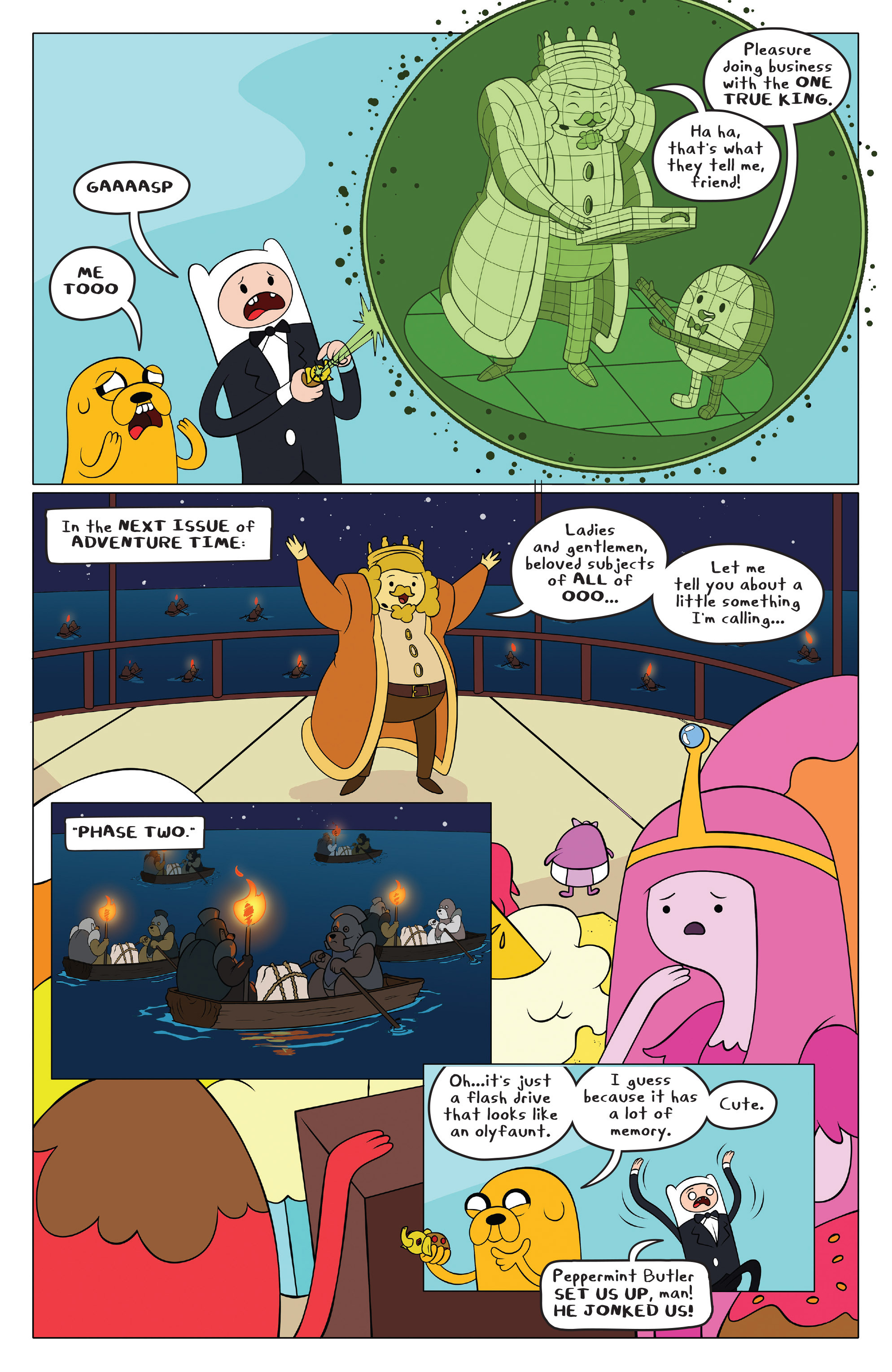 Read online Adventure Time comic -  Issue #43 - 18