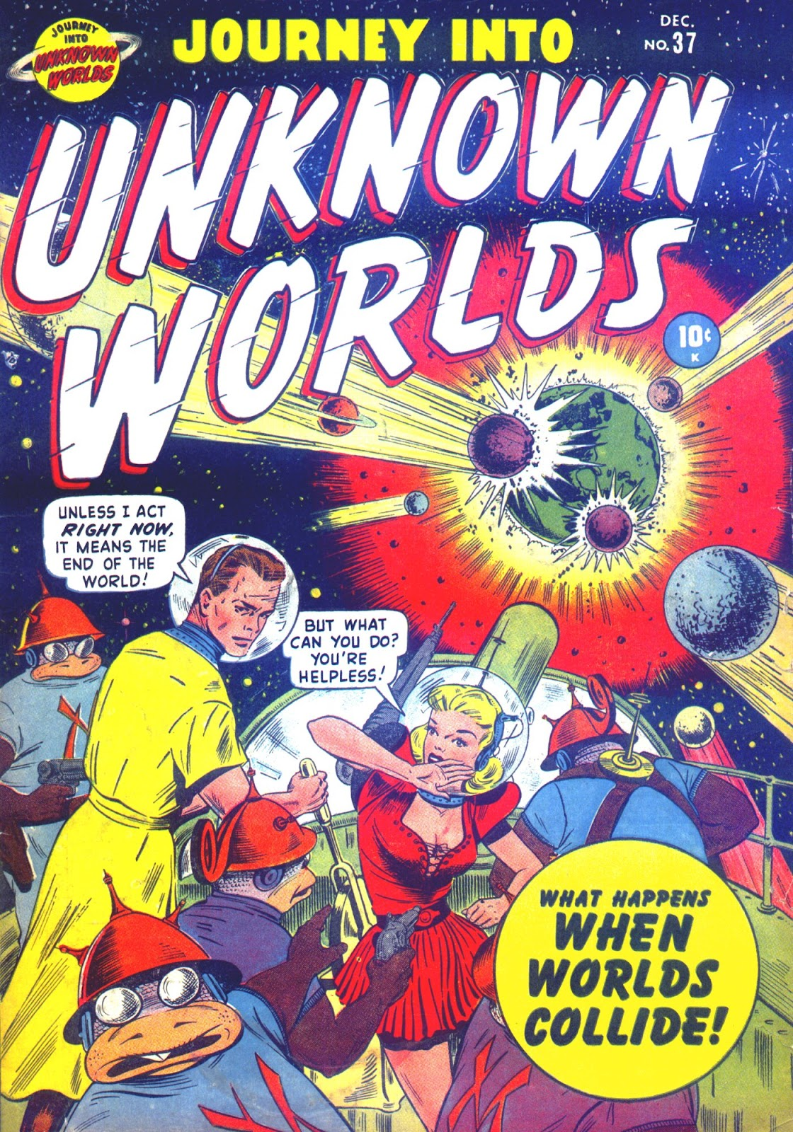 Journey Into Unknown Worlds (1950) issue 37 - Page 1