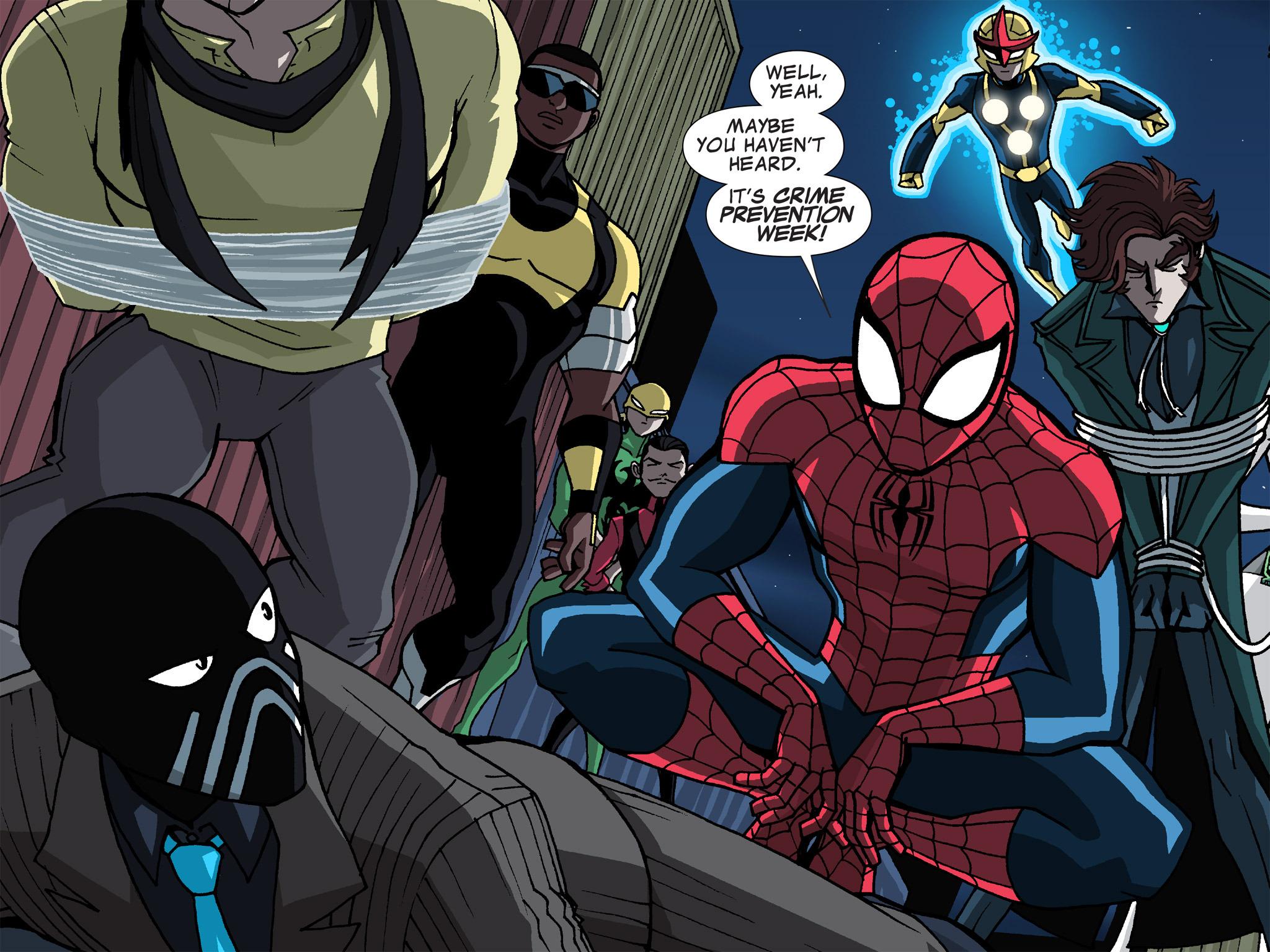 Read online Ultimate Spider-Man (Infinite Comics) (2015) comic -  Issue #19 - 33