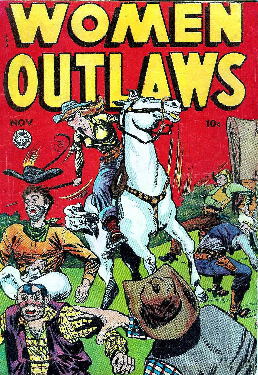 Read online Women Outlaws comic -  Issue #3 - 1