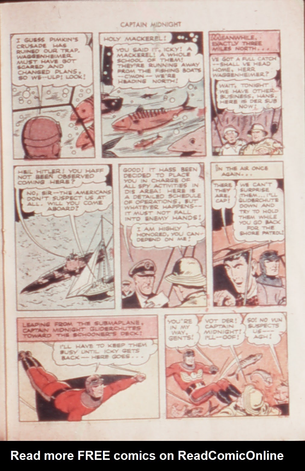 Captain Midnight (1942) issue 21 - Page 19