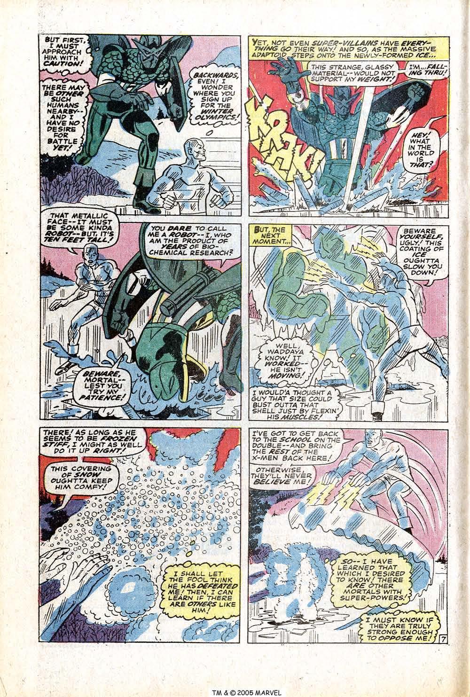 Read online Uncanny X-Men (1963) comic -  Issue #77 - 12