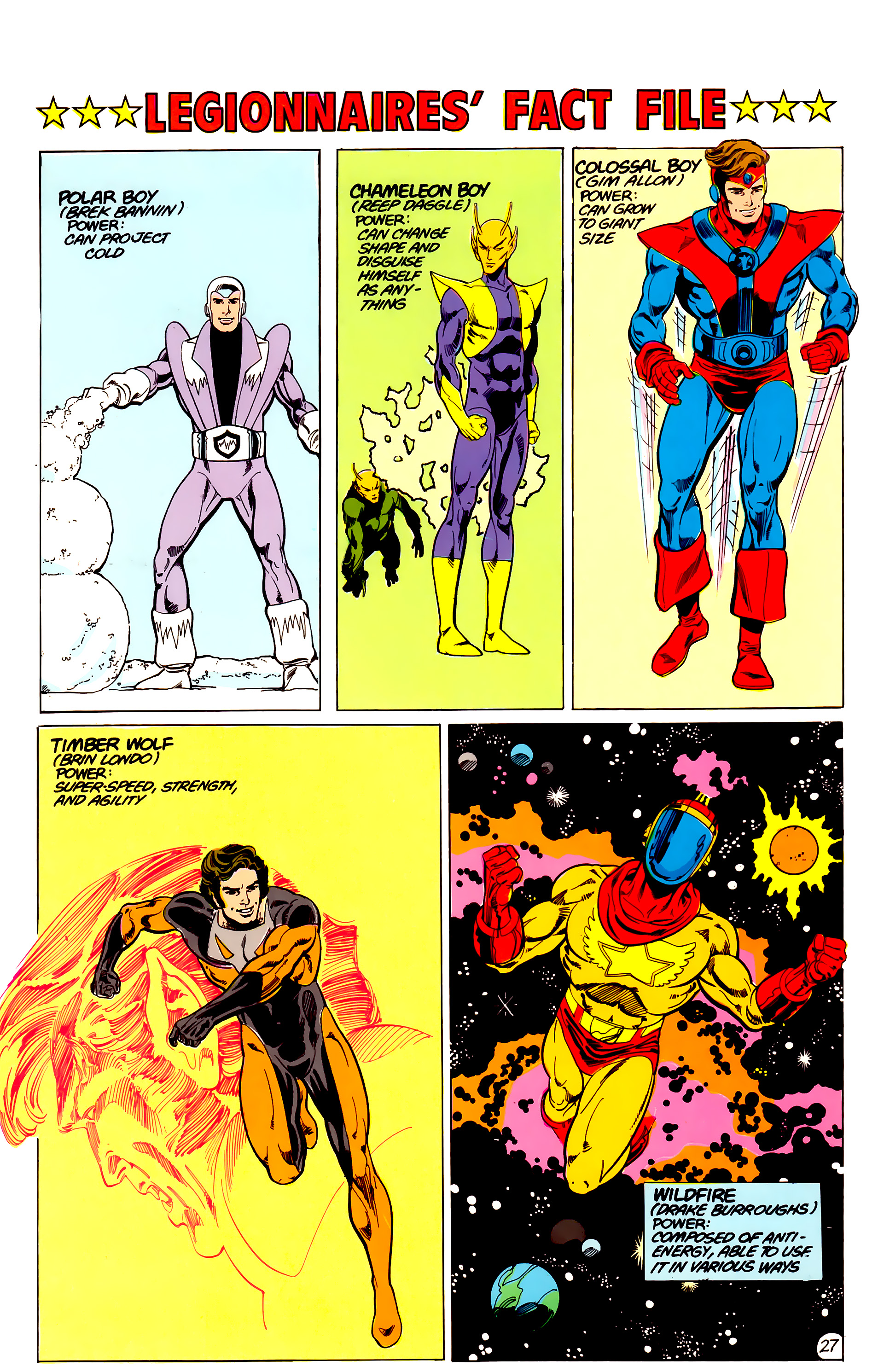 Legion of Super-Heroes (1984) 17 Page 28