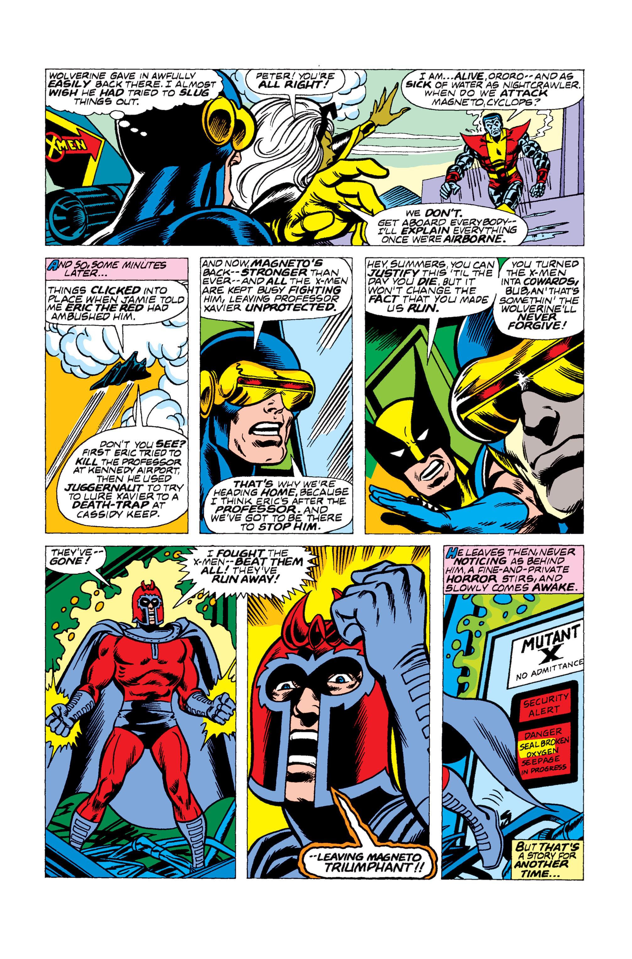 Read online Uncanny X-Men (1963) comic -  Issue #104 - 16