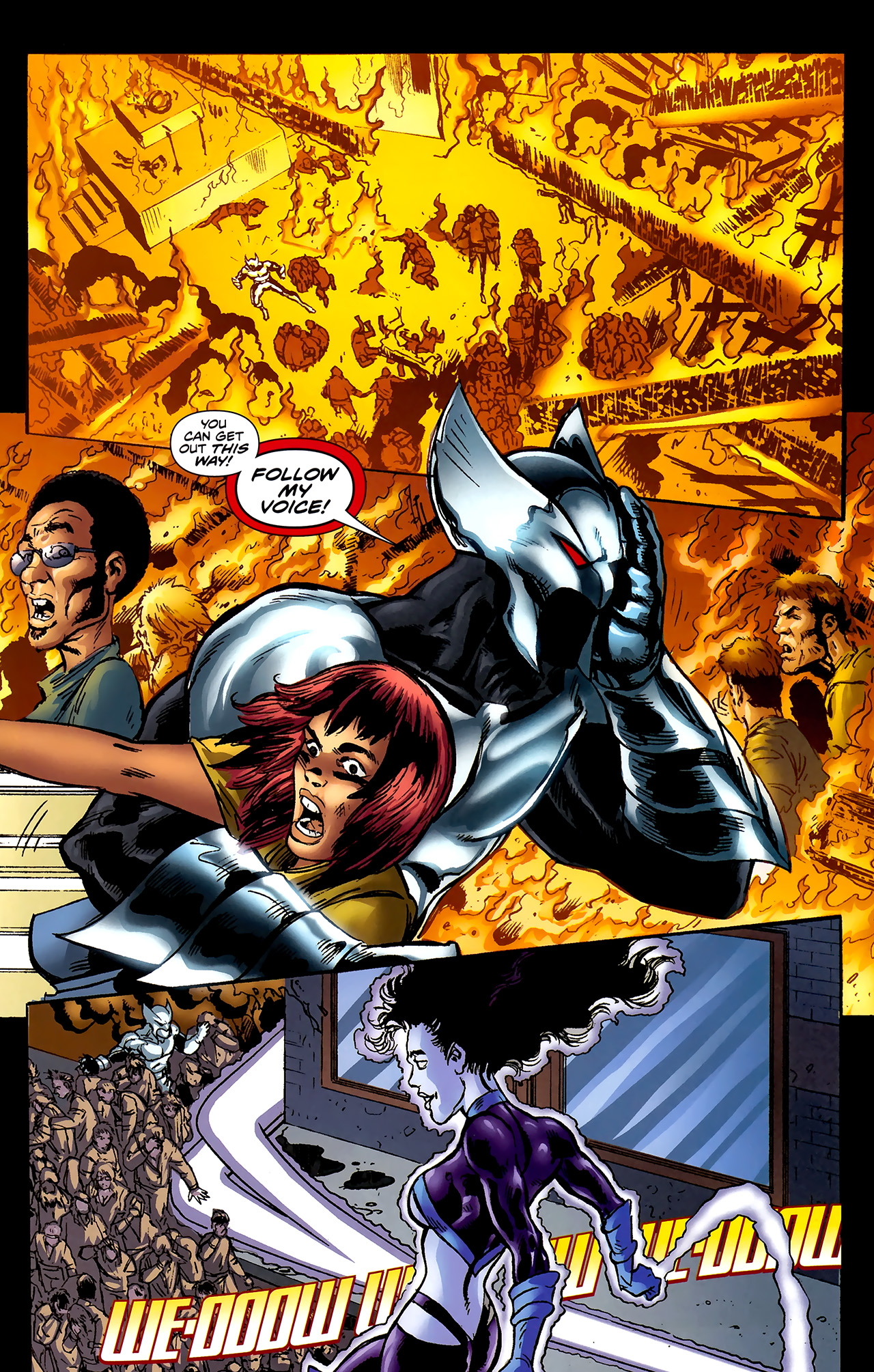 Read online ShadowHawk (2010) comic -  Issue #2 - 21