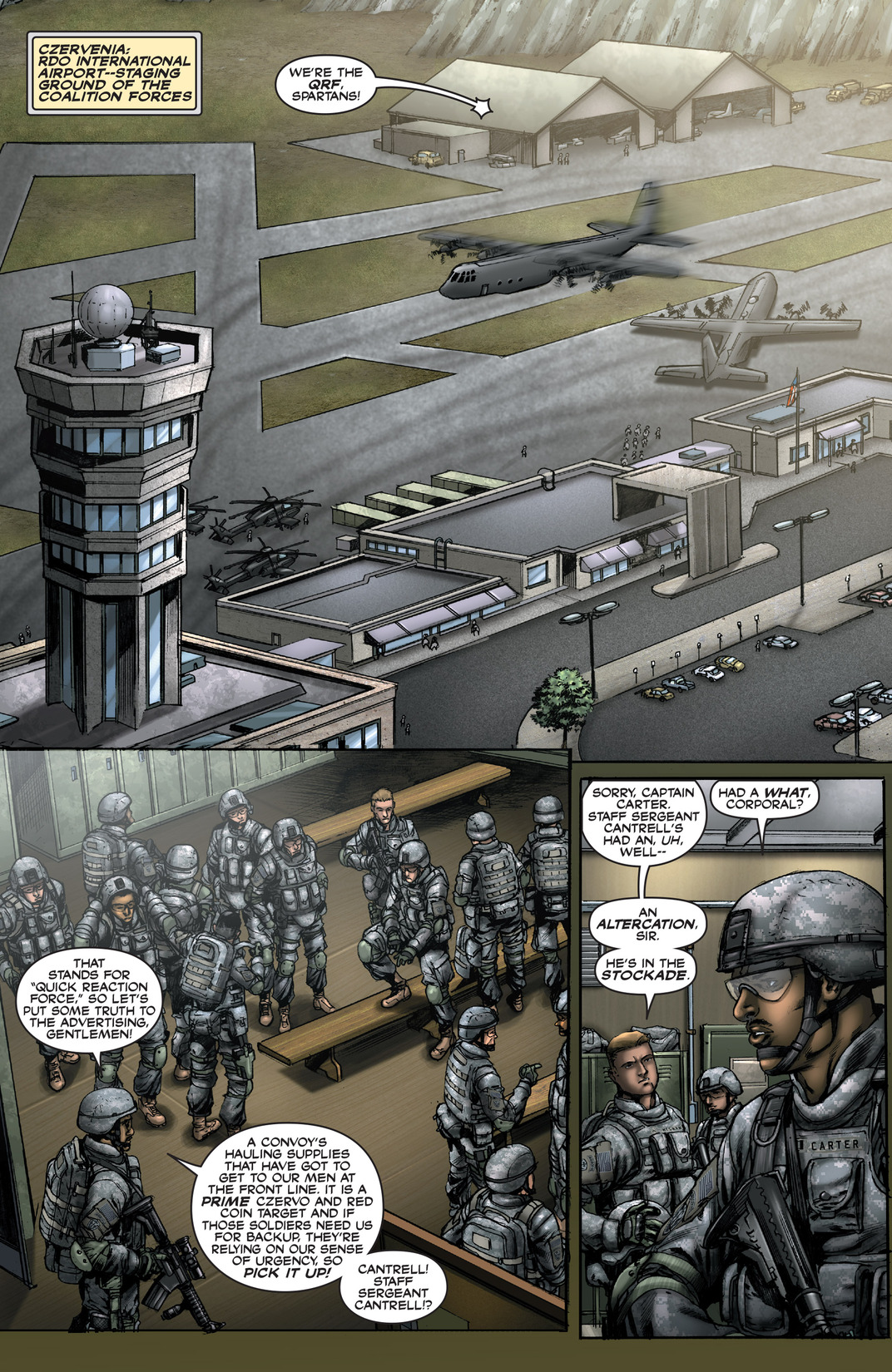Read online America's Army comic -  Issue #13 - 3